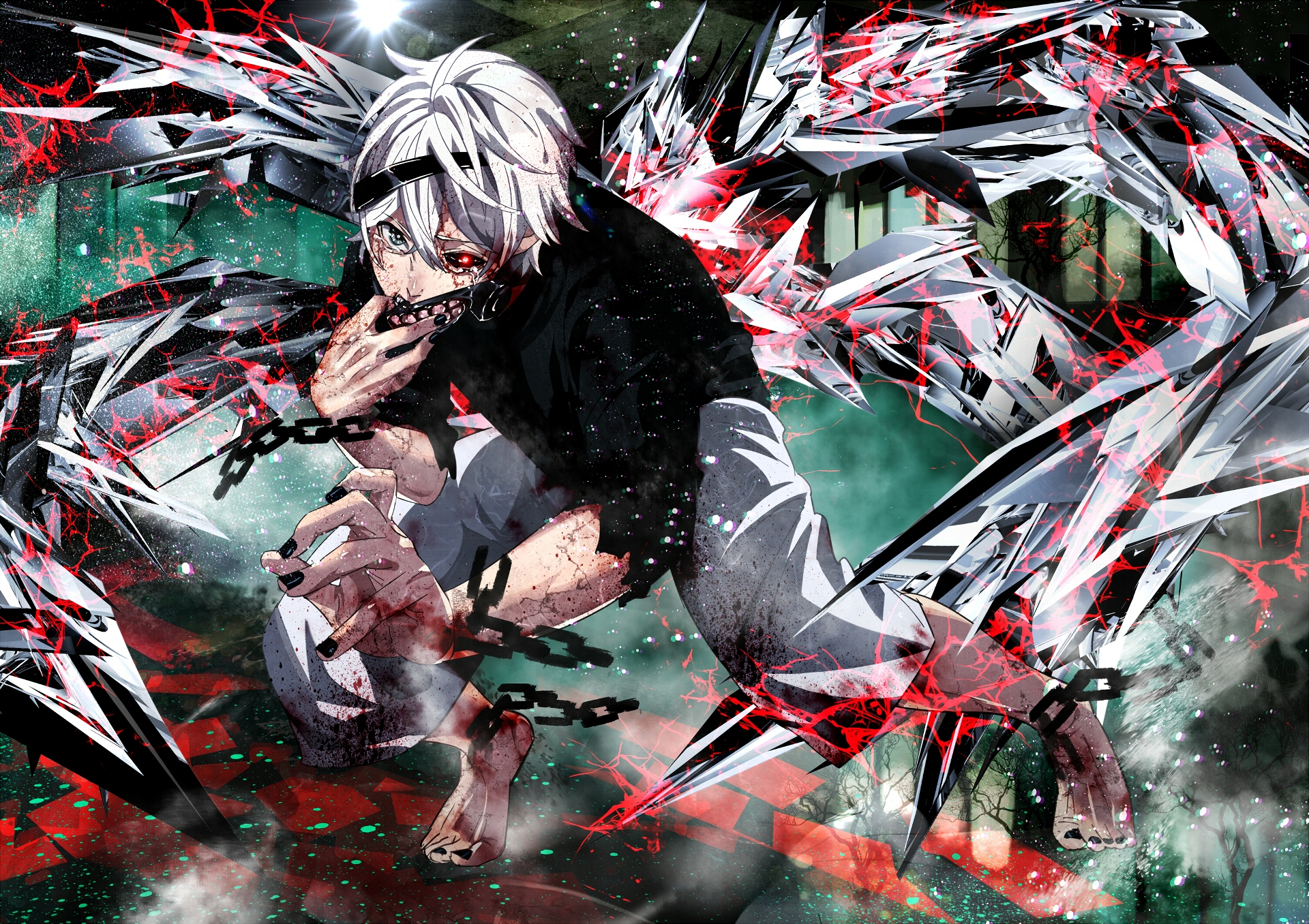 Scene From Tokyo Ghoul Anime Wallpaper Full Hd Id4030