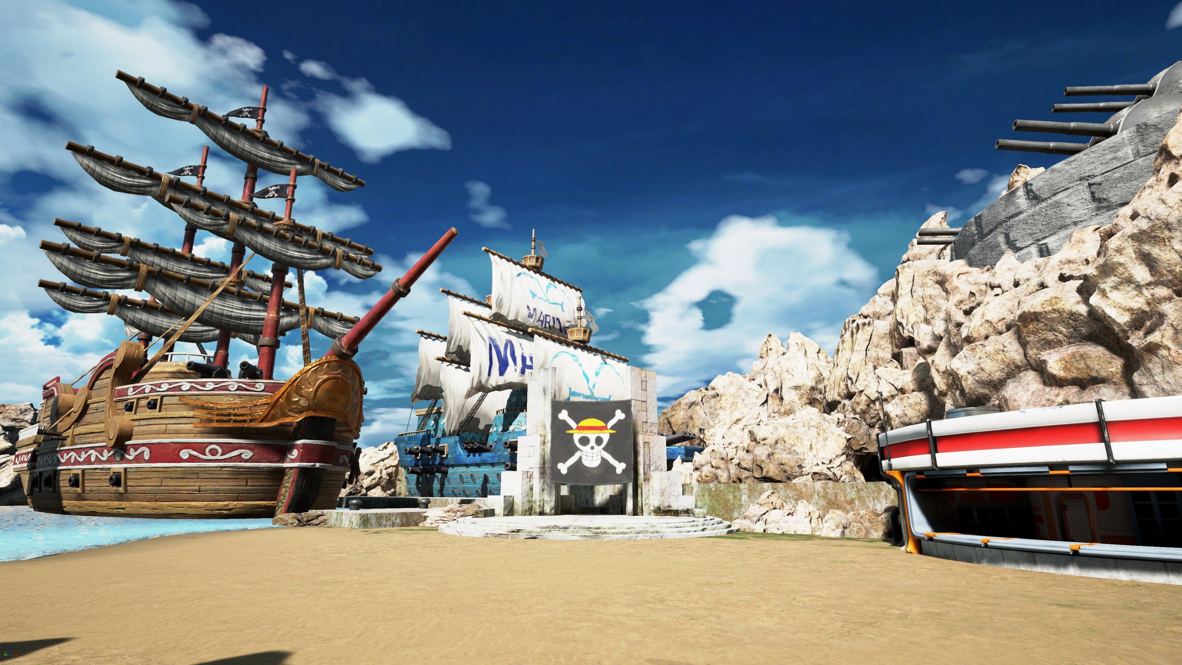 Fondos de pantalla Escenario de One Piece en Jump Force