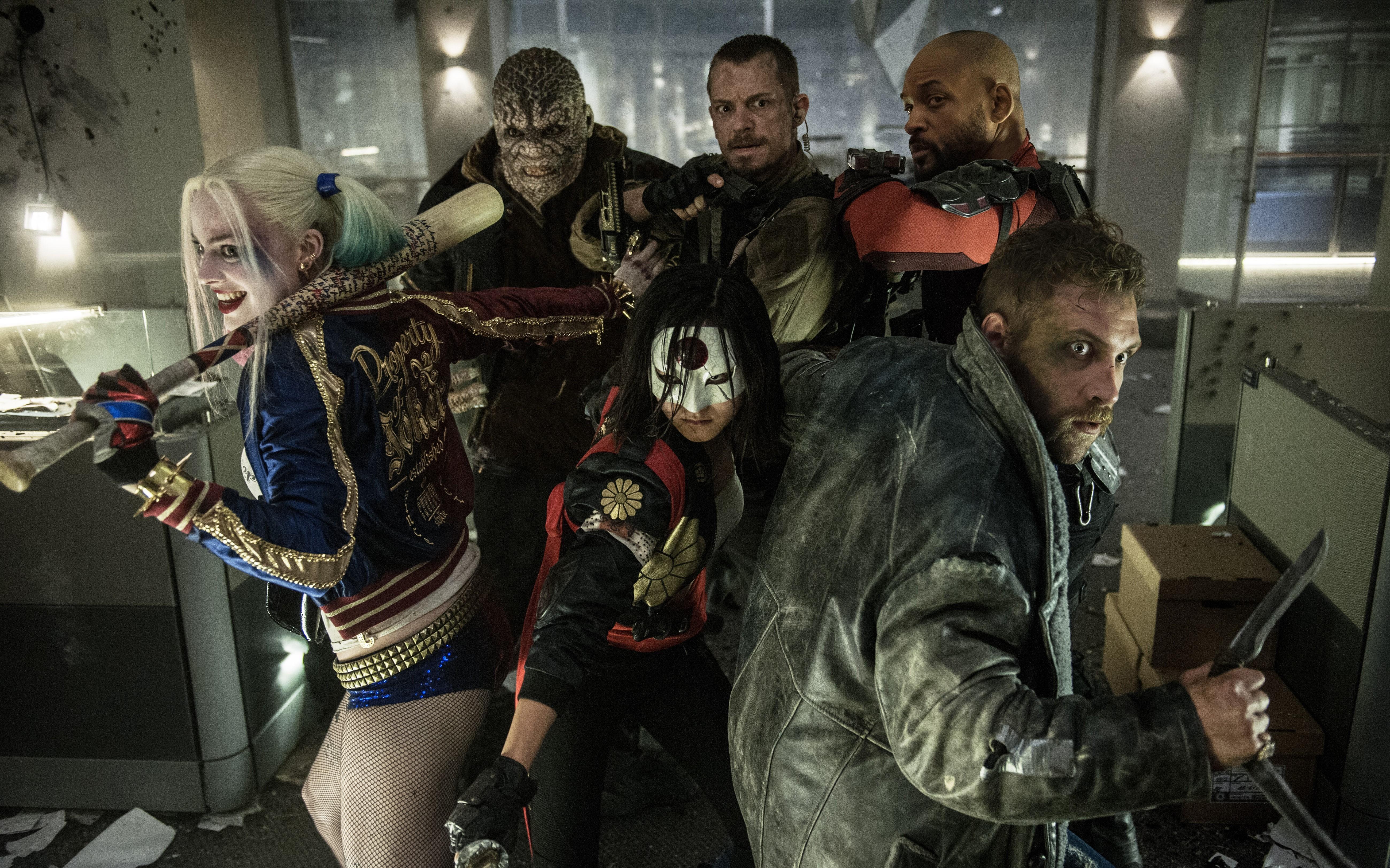 Fondo de pantalla de Escuadrón suicida - Personajes Suicide Squad Imágenes