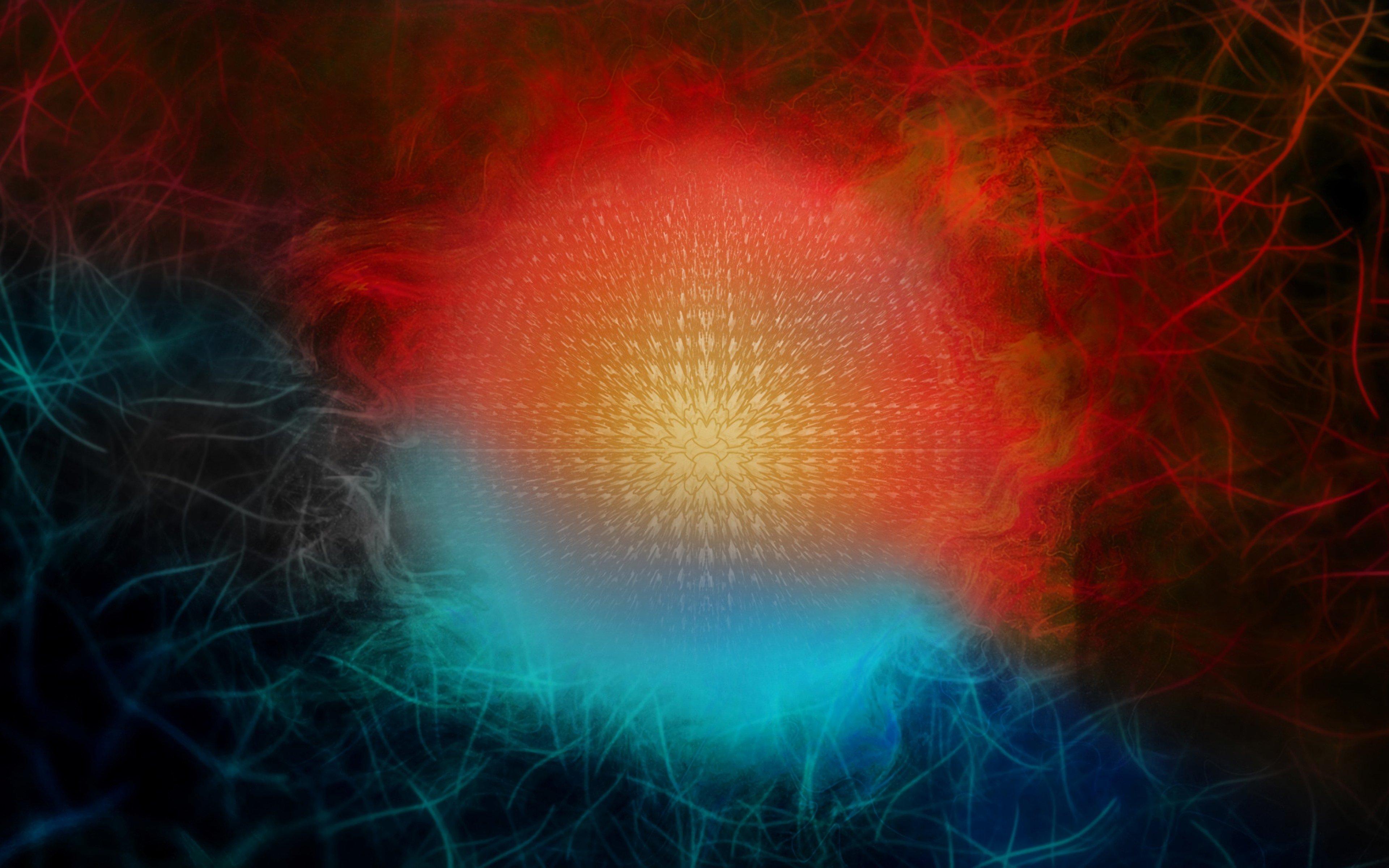 Fondos de pantalla Esfera abstracta de colores