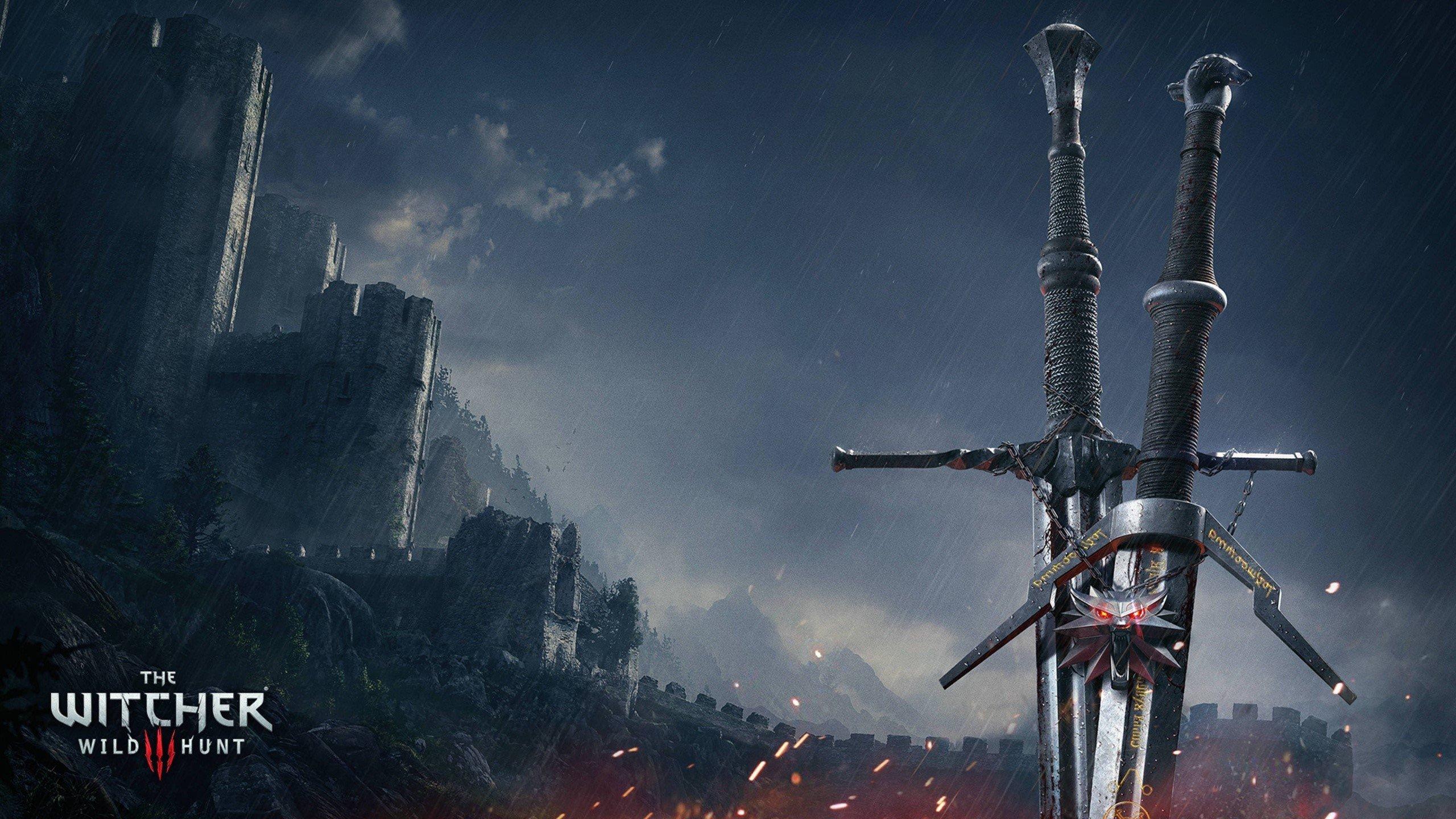 Fondo de pantalla de Espadas de Witcher 3 Wild Hunt Imágenes