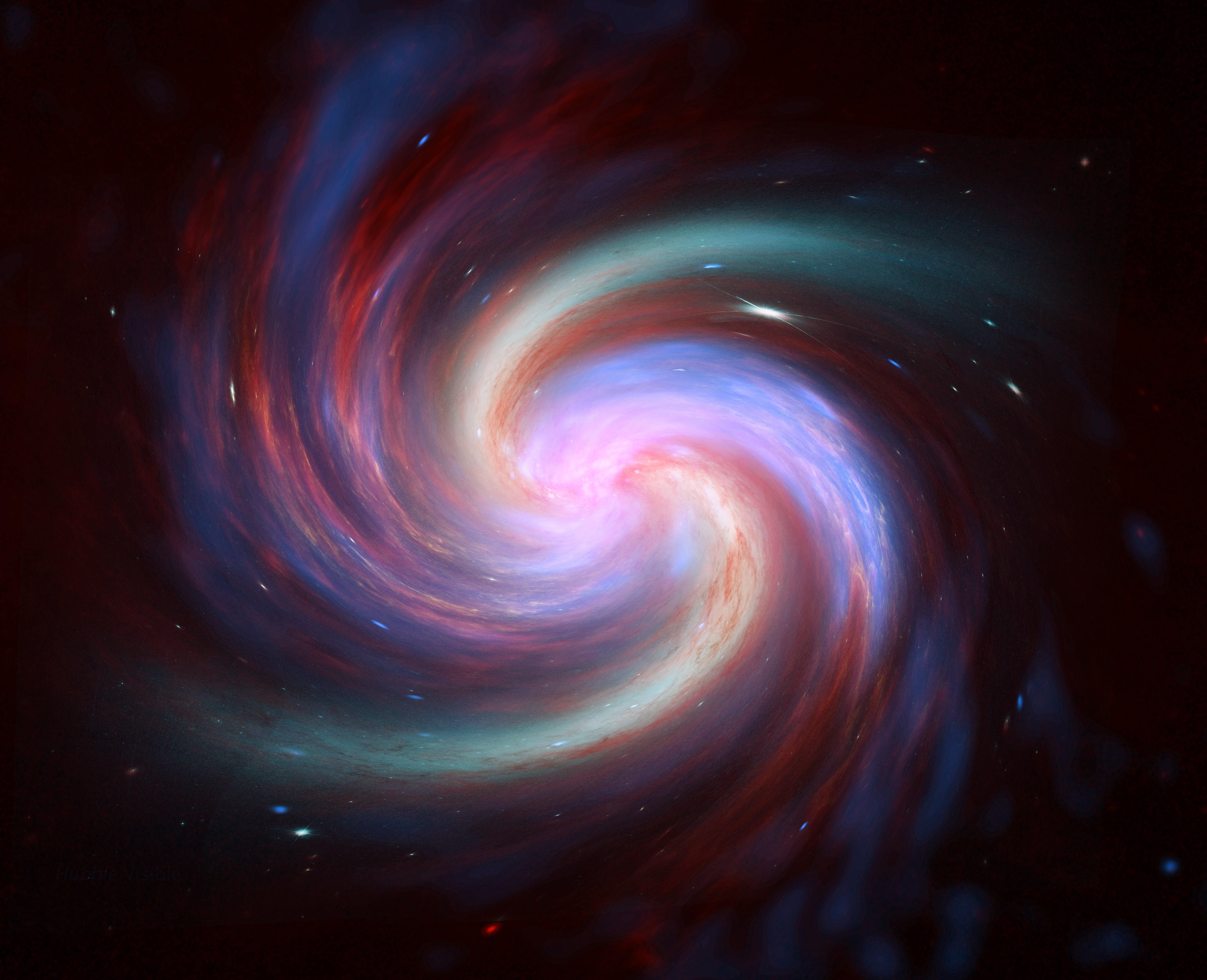 Wallpaper Galaxy spiral