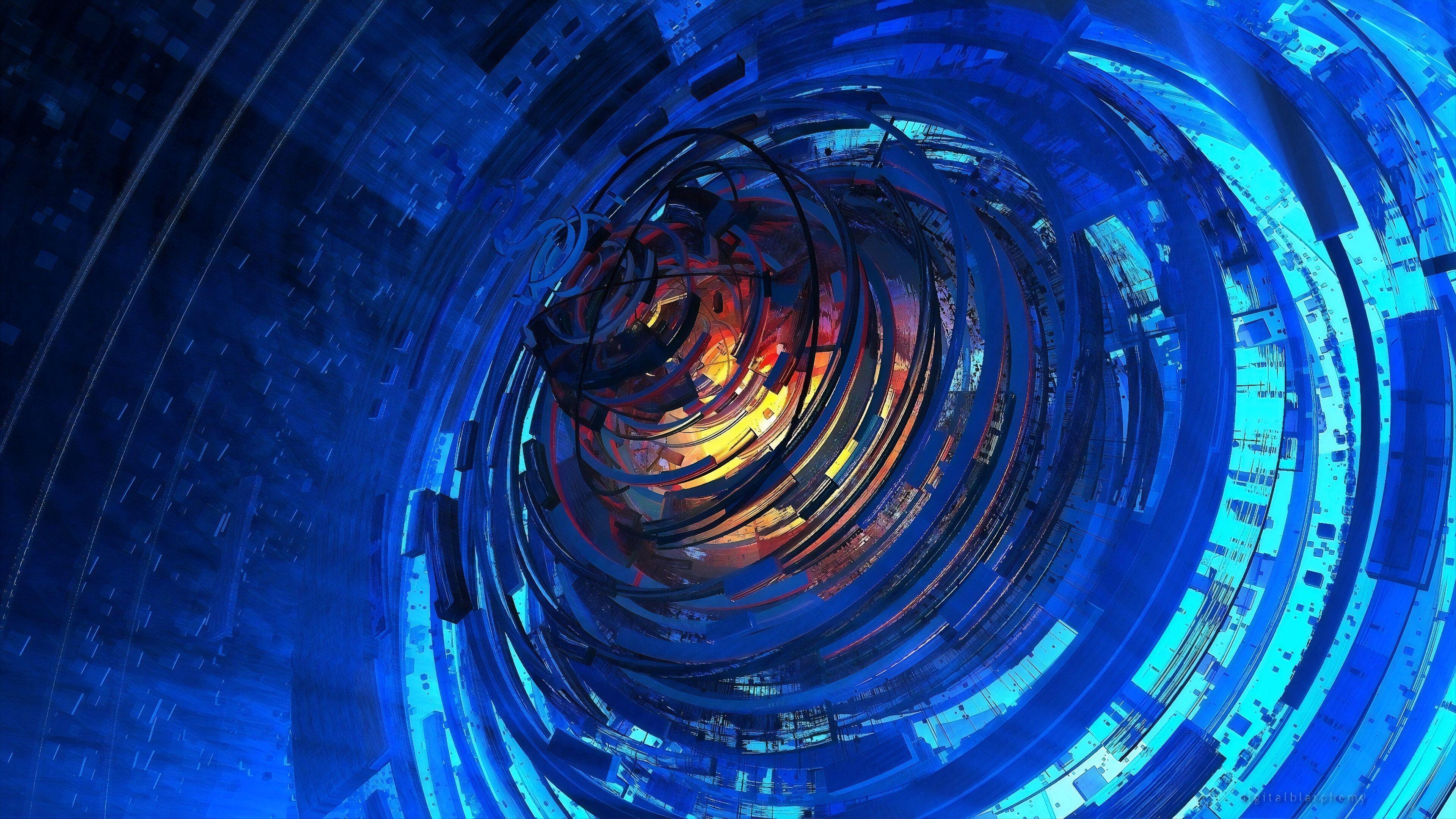 Fondos de pantalla Espiral tecnológico