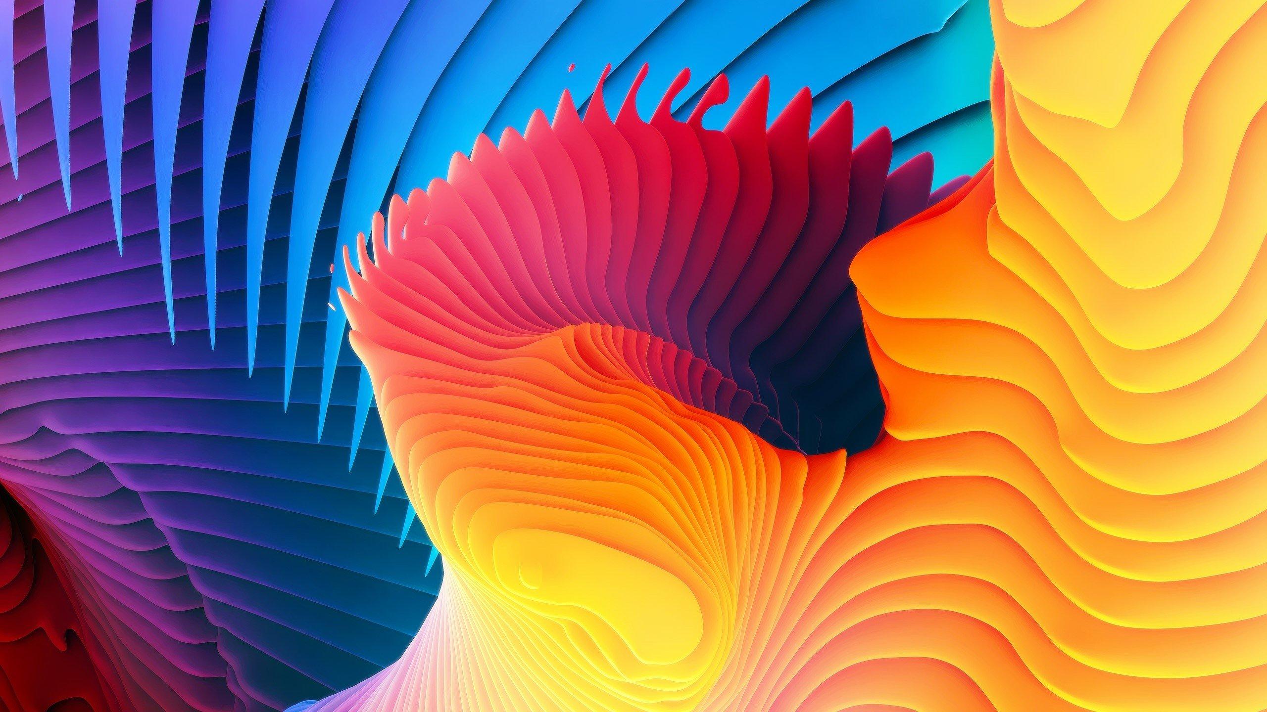 Fondo de pantalla de Espirales de colores Imágenes