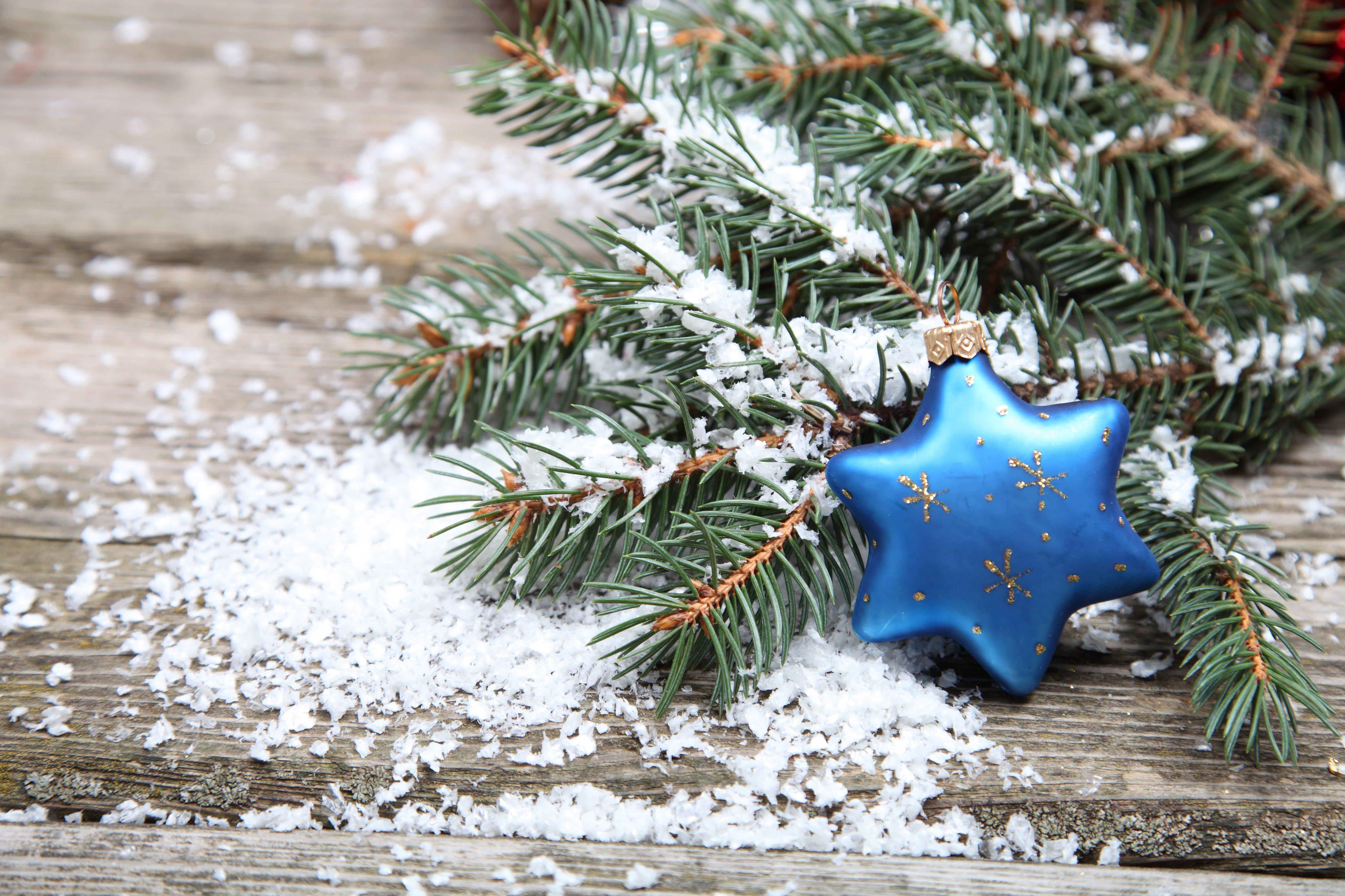 Wallpaper Christmas Decorative Star