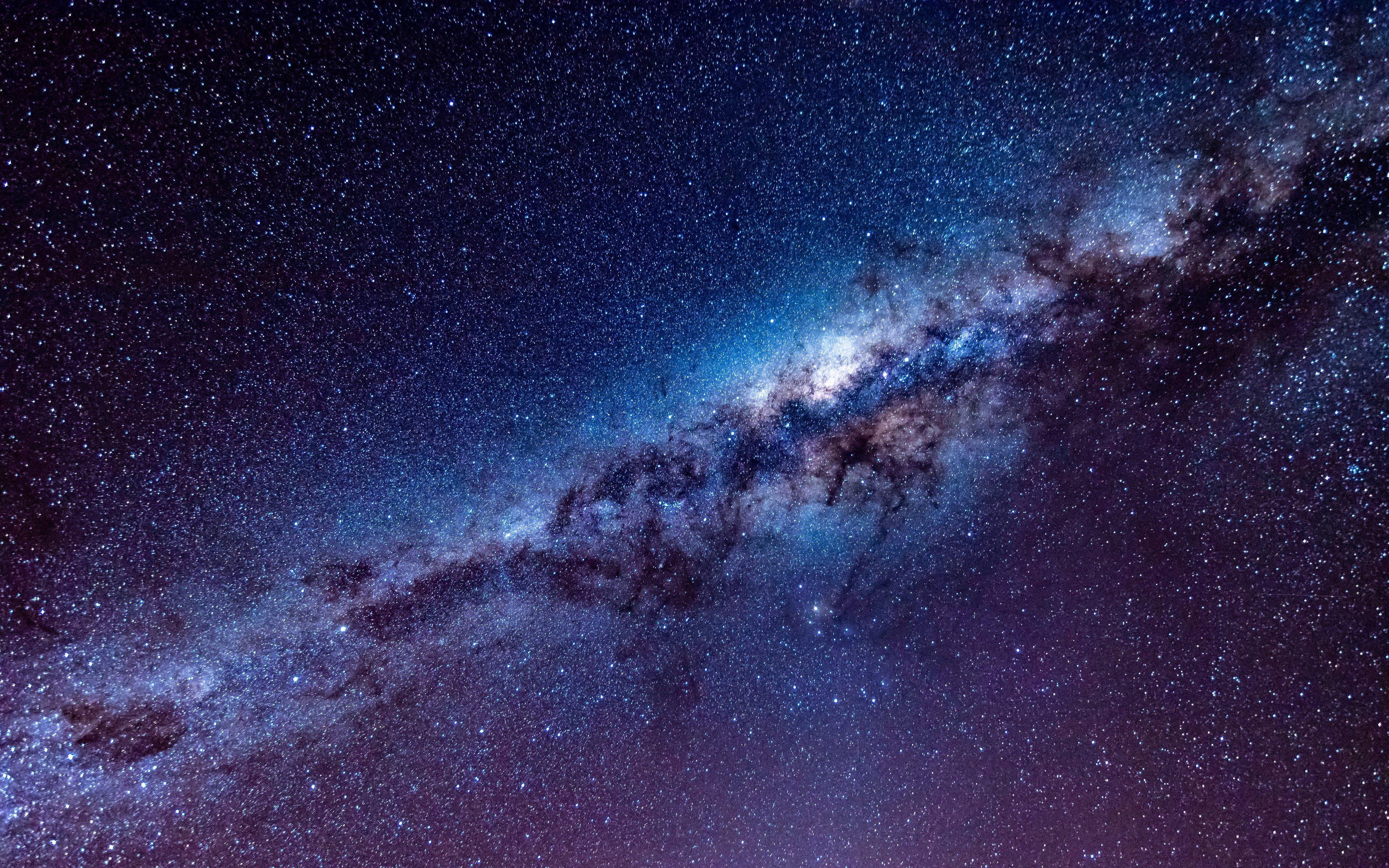 Fondos de pantalla Estrellas de la Vía láctea