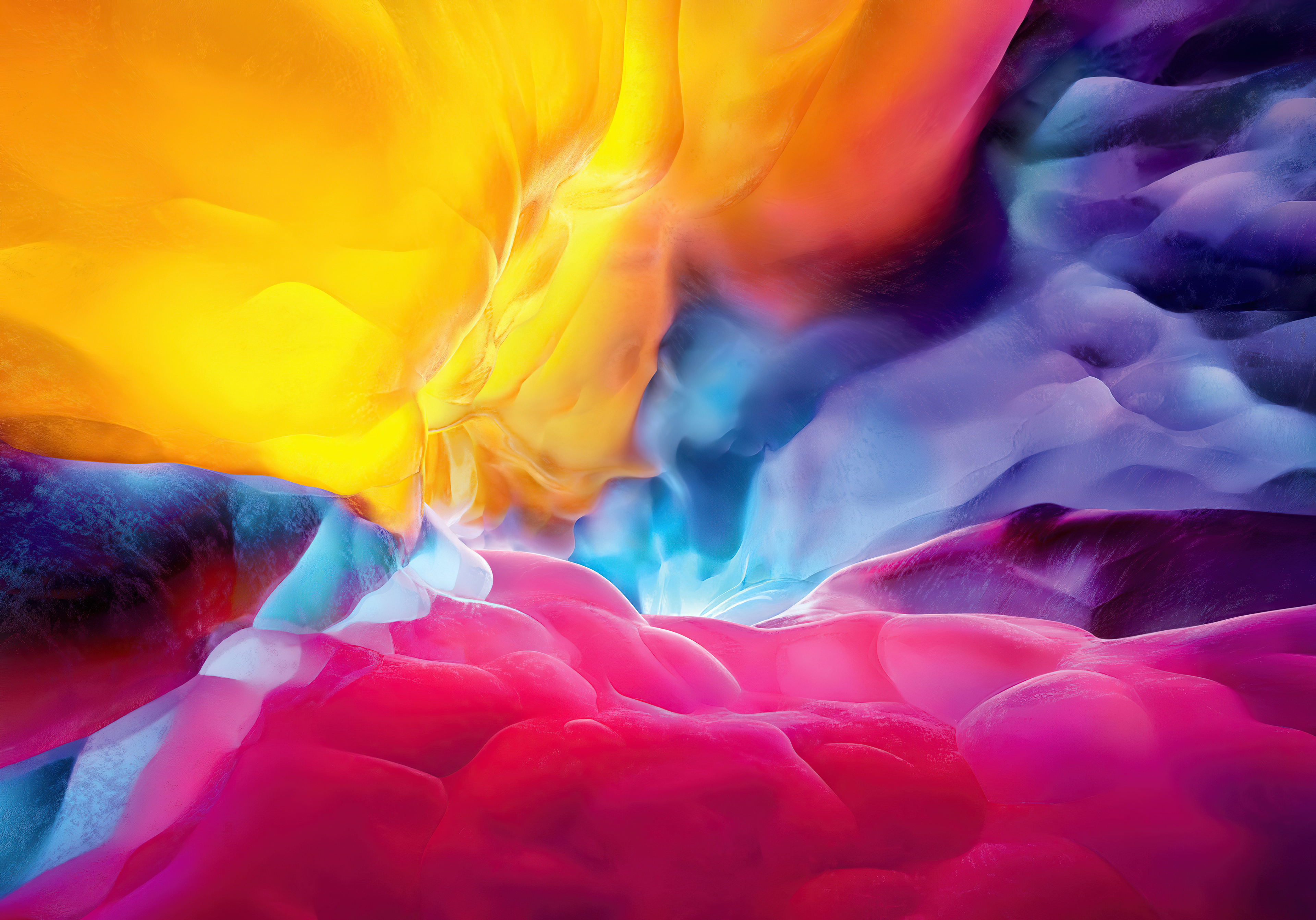 Fondos de pantalla Explosión de colores