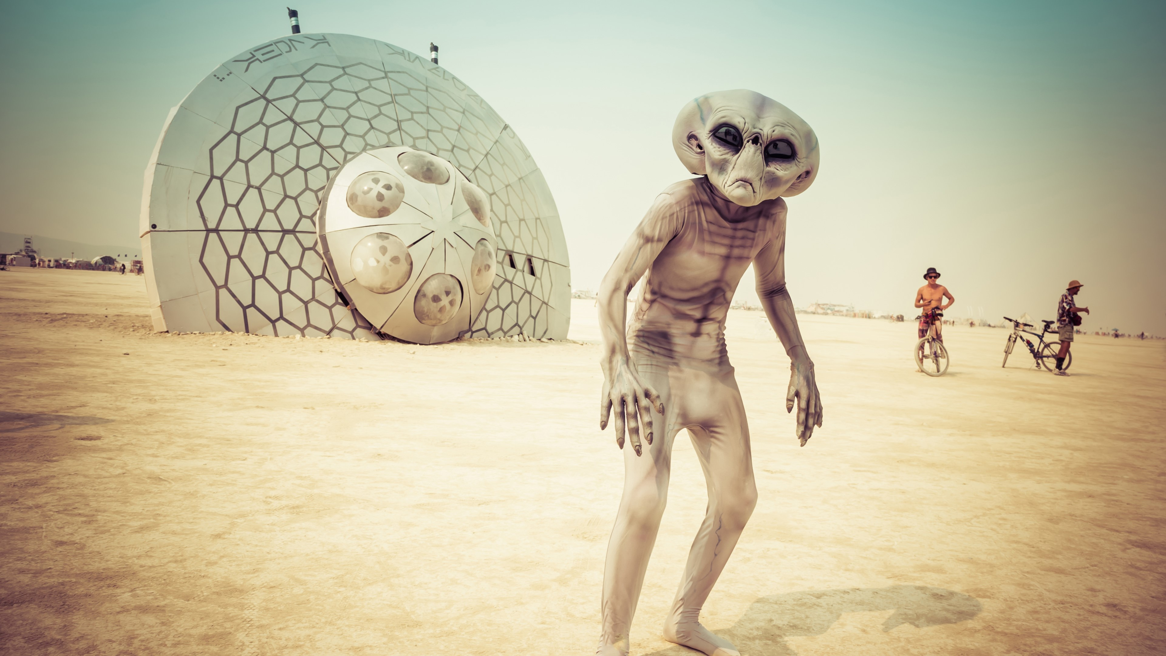 Wallpaper Alien in Nevada