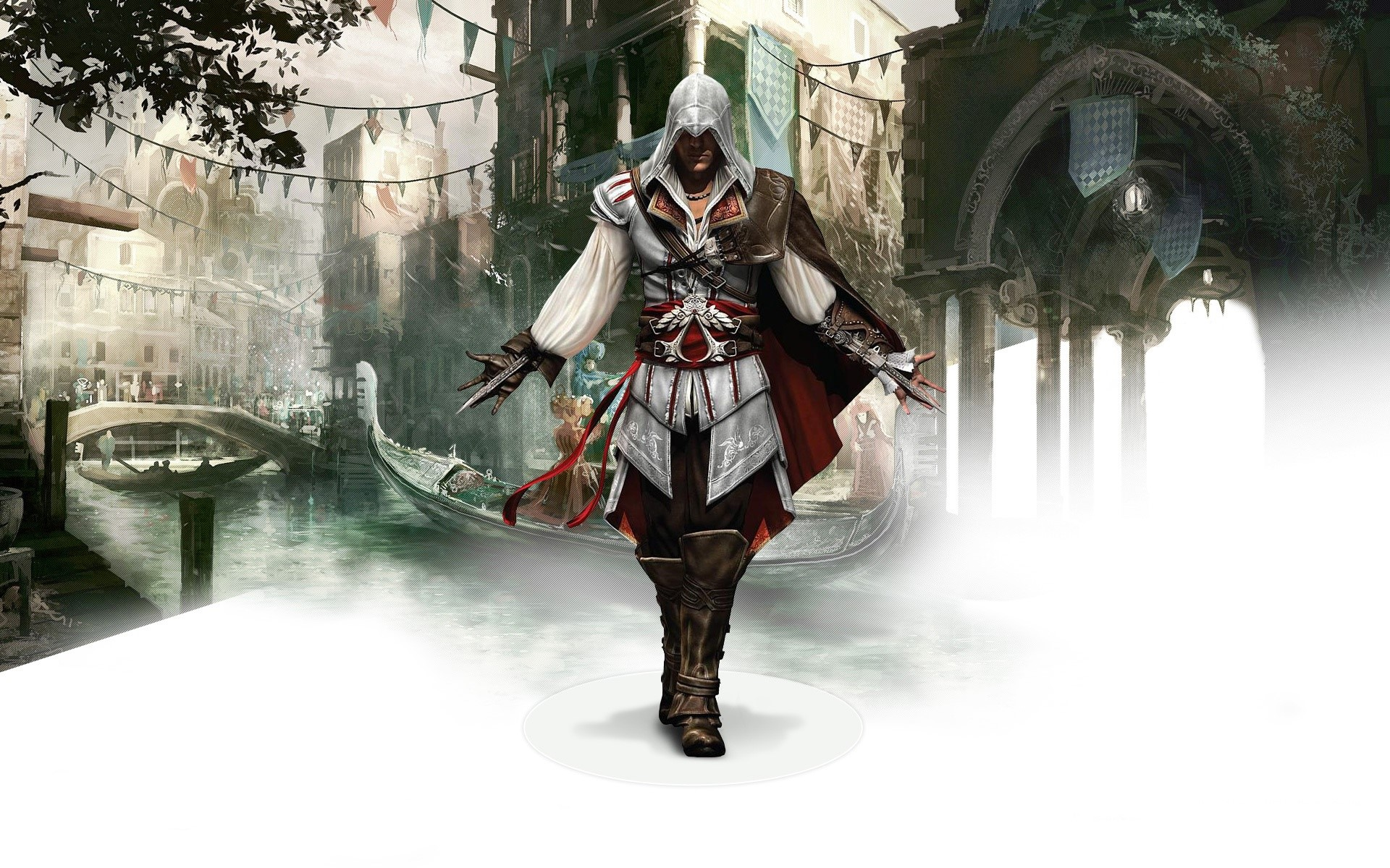 Wallpaper Ezio of Assassins Creed 2