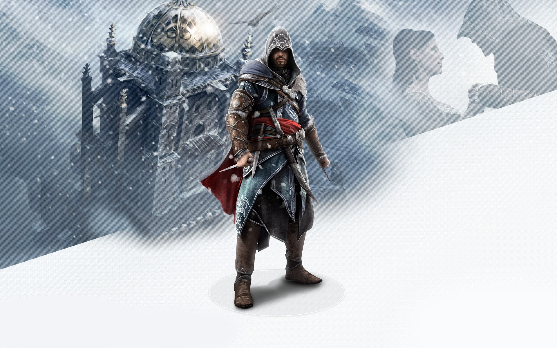 Fondos de pantalla Ezio de Assassins Creed revelations