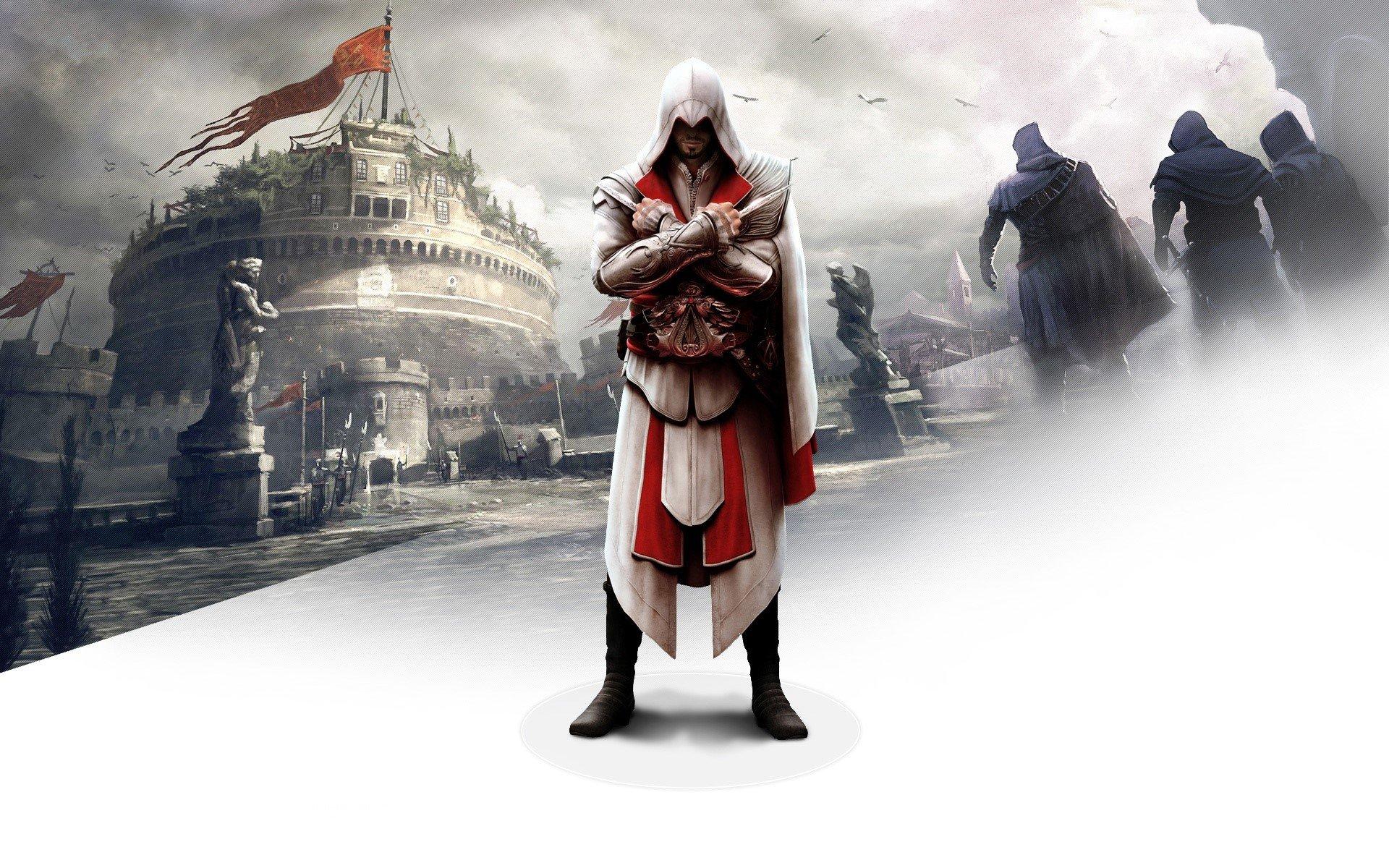 Wallpaper Ezio in Assasins Creed: The brotherhood