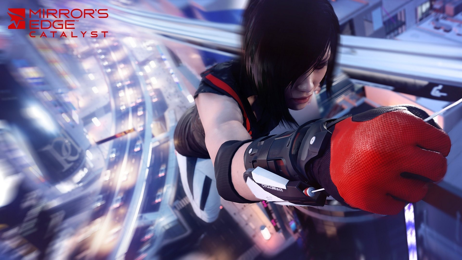 Wallpaper Faith Connors in Mirrors Edge Catalyst