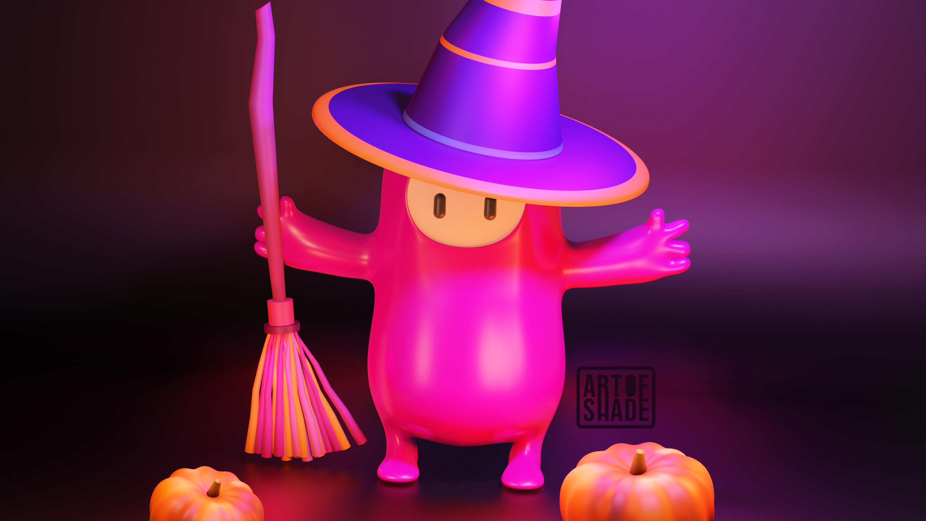 Fondos de pantalla Fall Guys Halloween