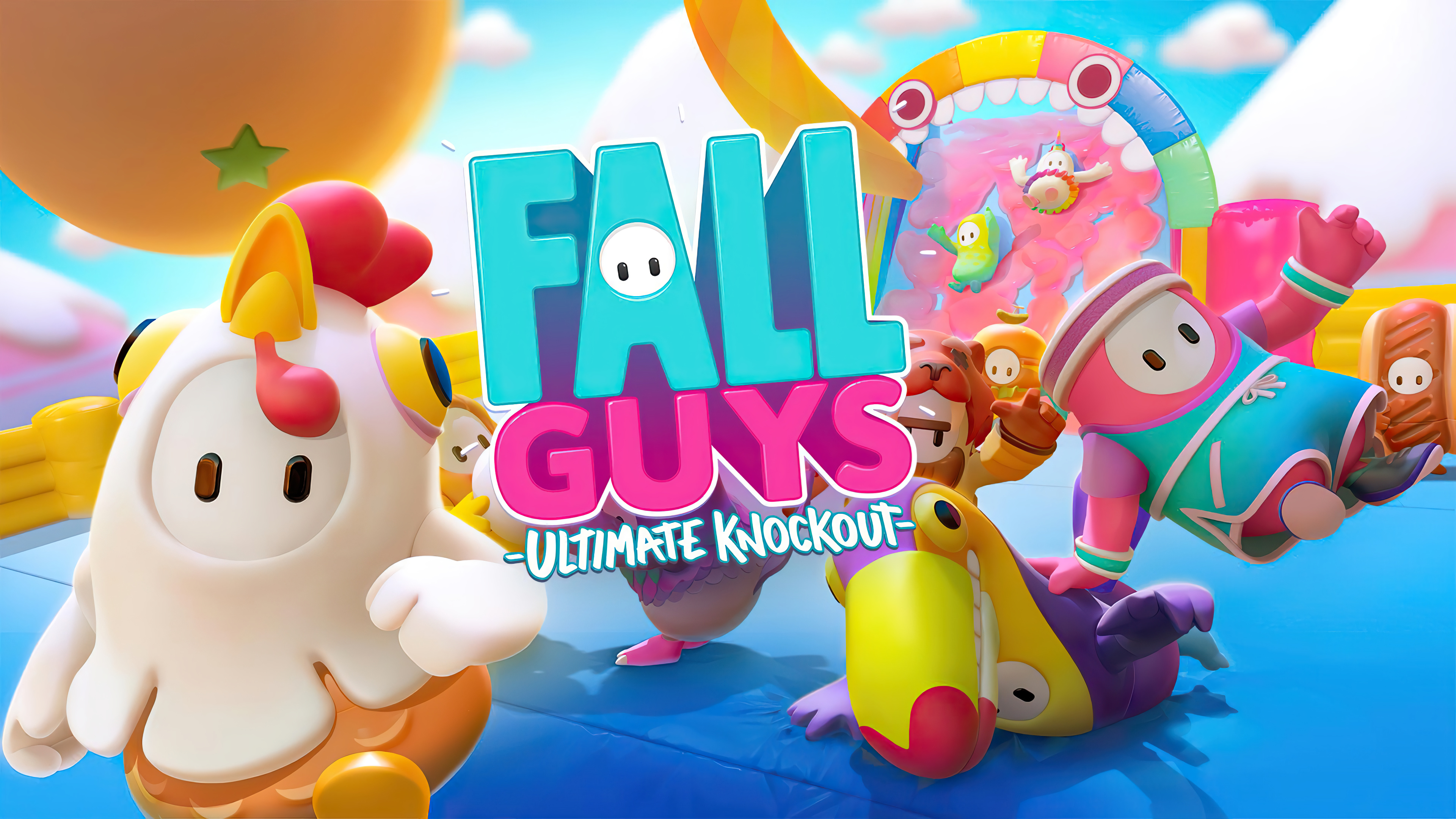 Fondos de pantalla Fall Guys Ultimate Knockout