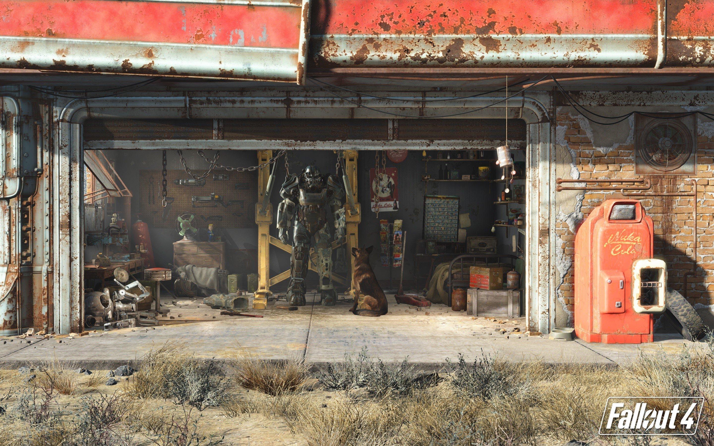 Wallpaper Fallout 4
