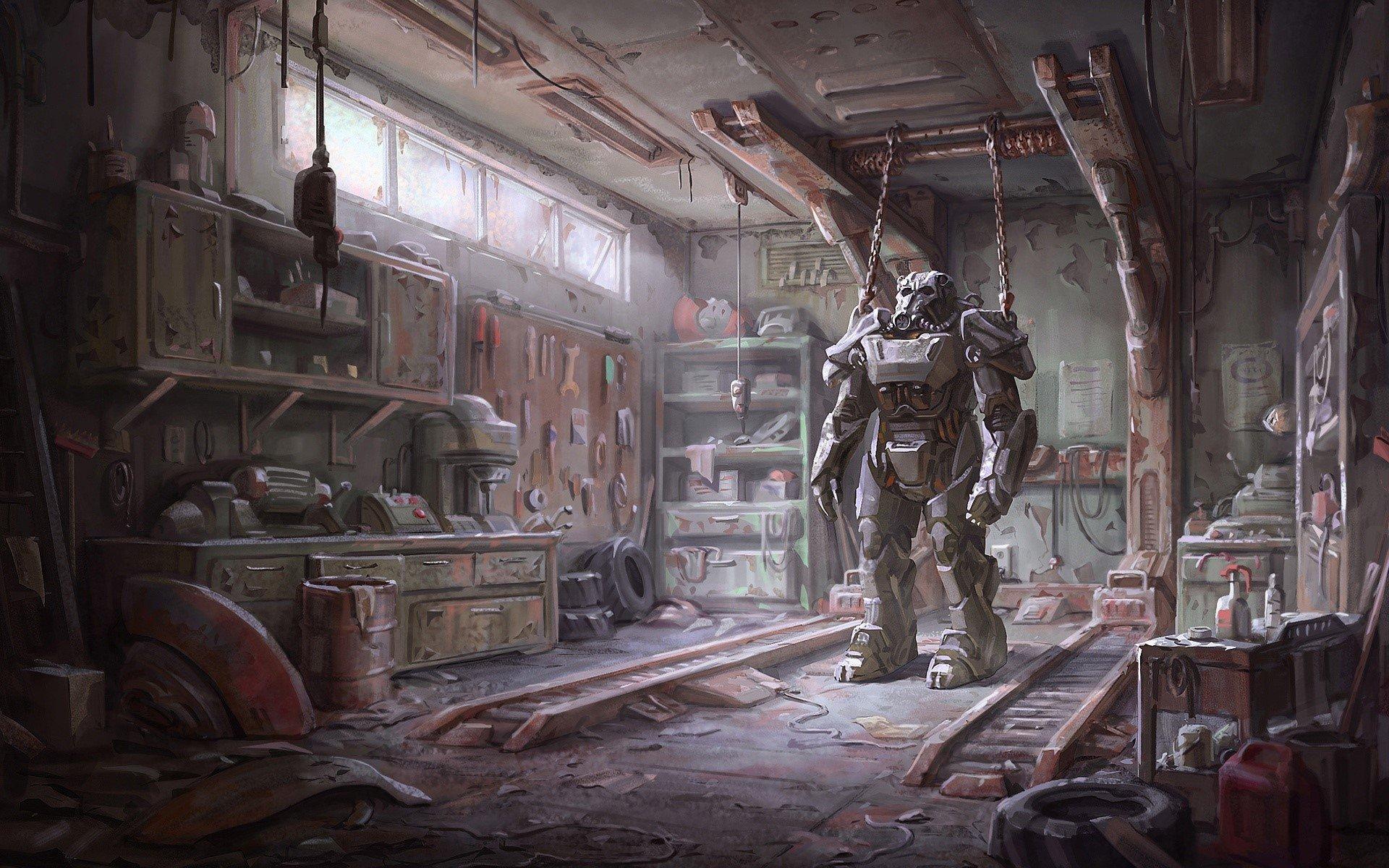 Fondo de pantalla de Fallout 4 Armour Imágenes