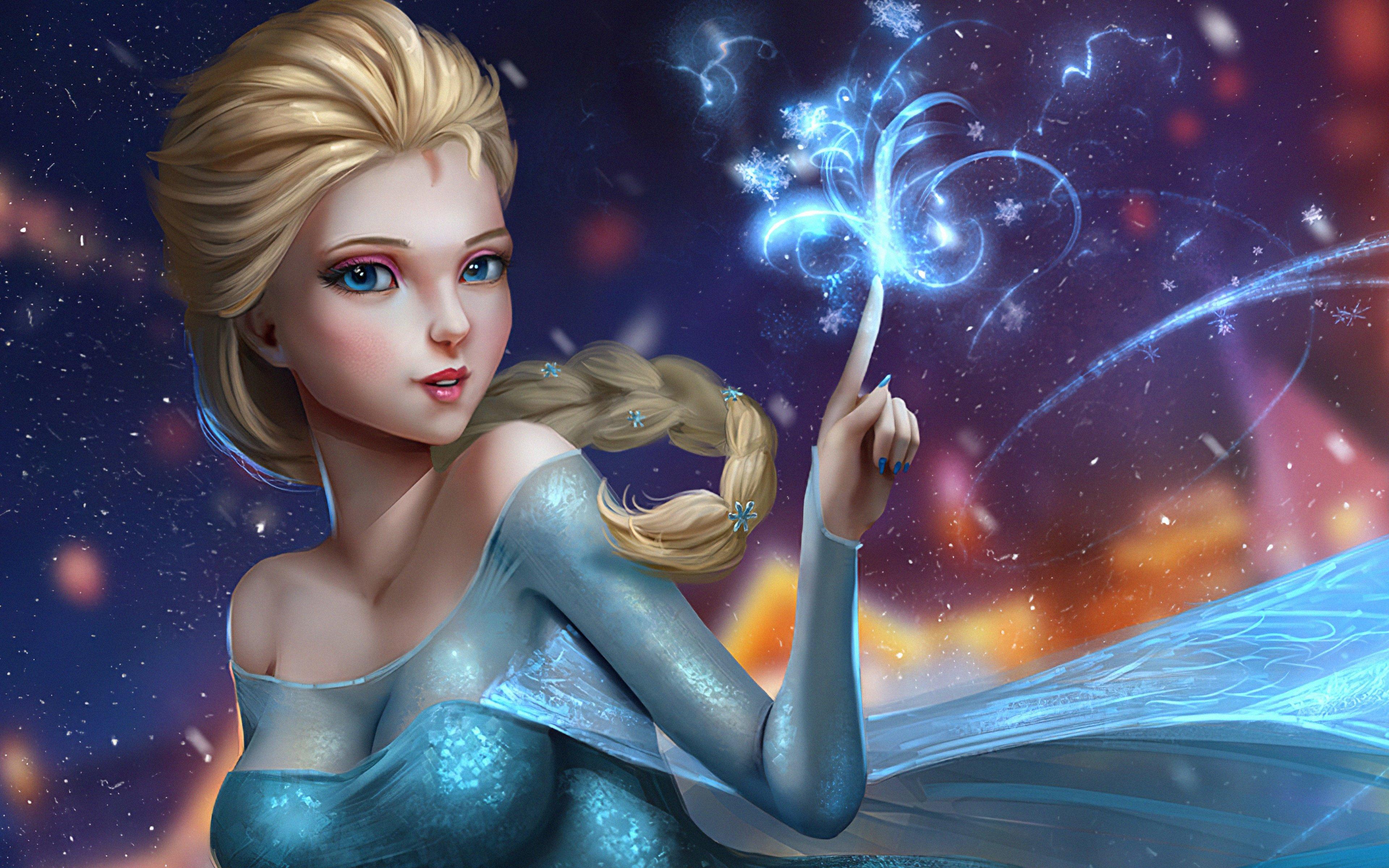 Fondos de pantalla Fanart de Elsa de Frozen