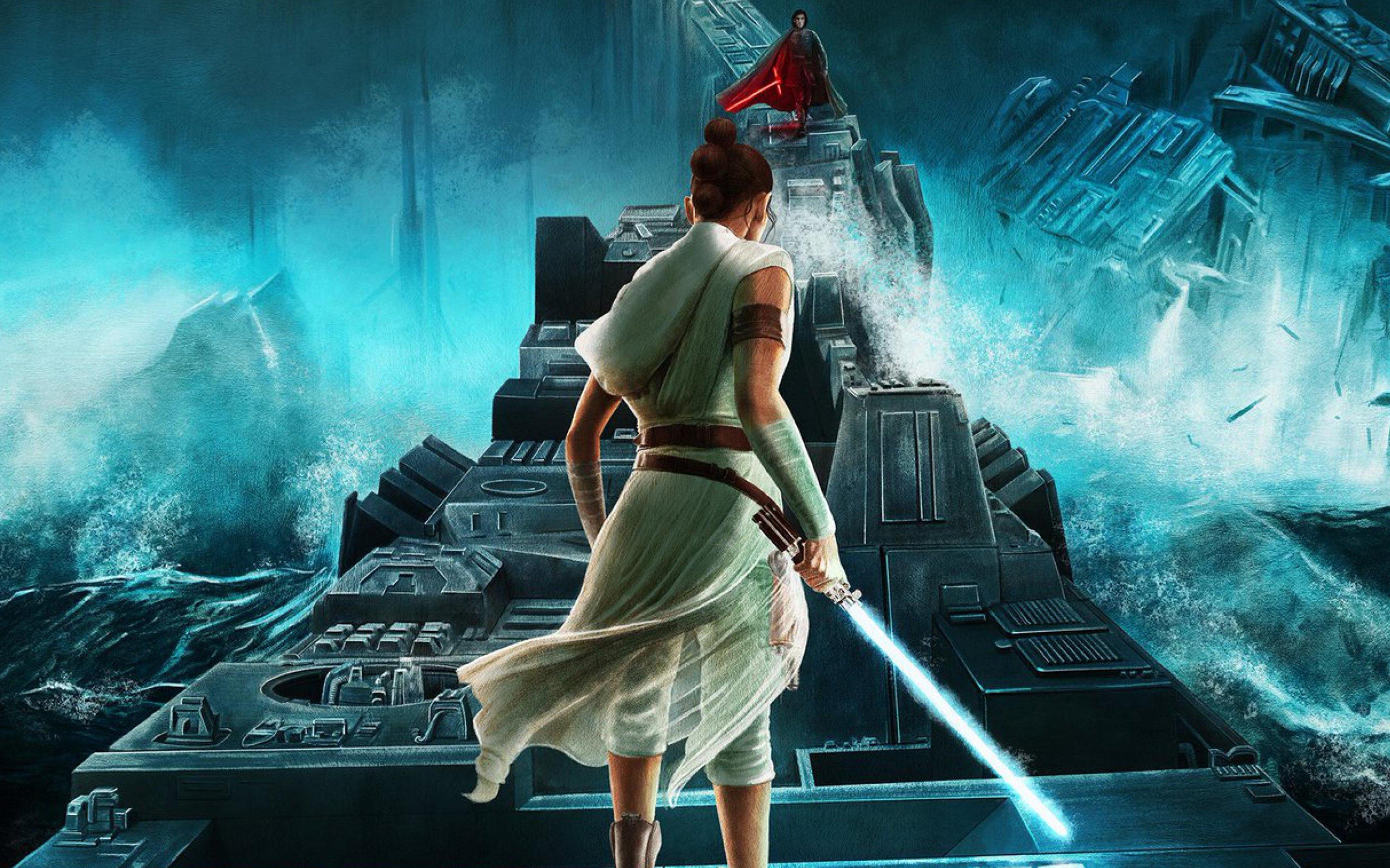 Rey From Star Wars Fanart Wallpaper 4k Ultra Hd Id4442