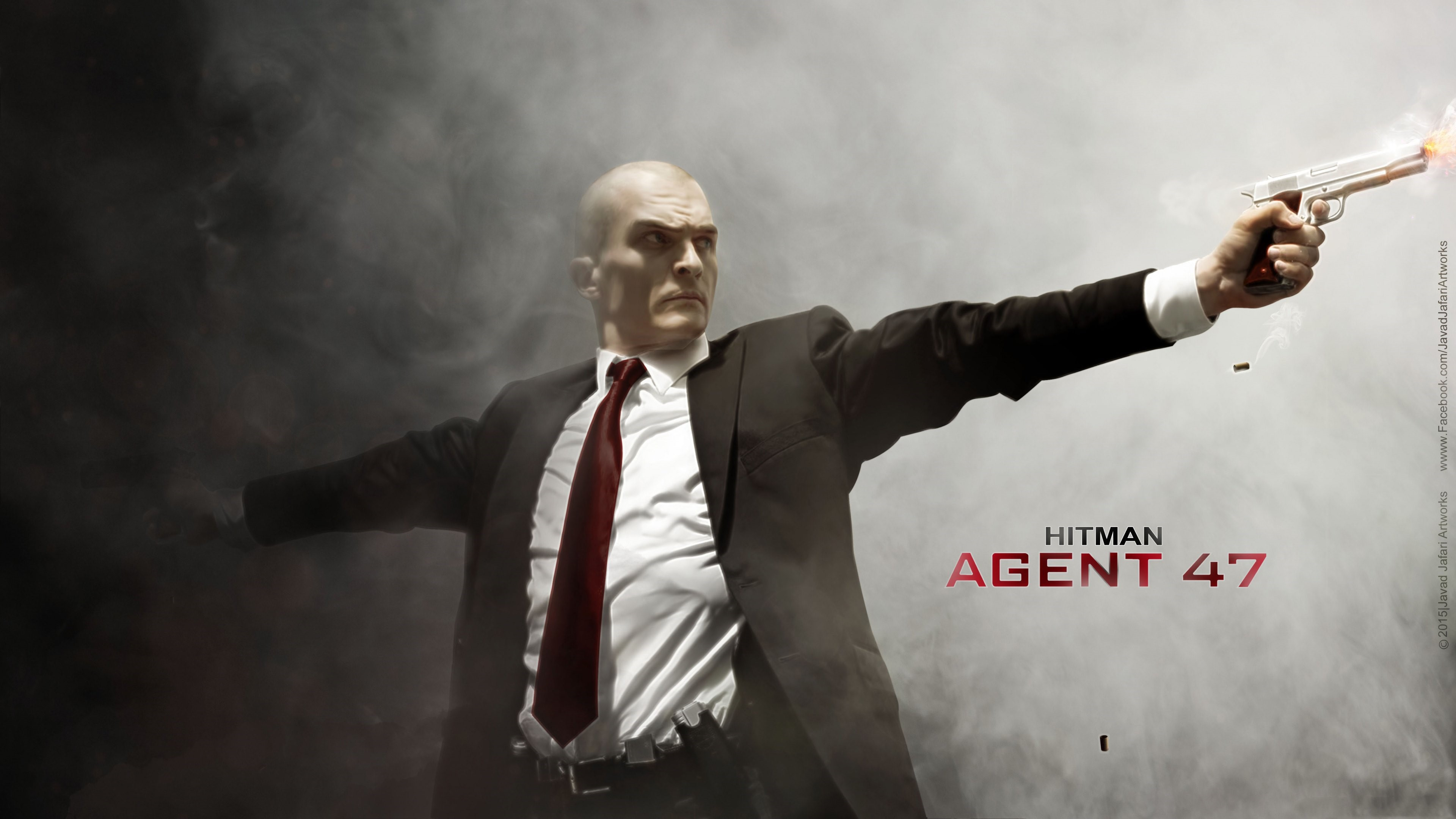 Wallpaper Fanart by Rupert Friend on Hitman Agent 47