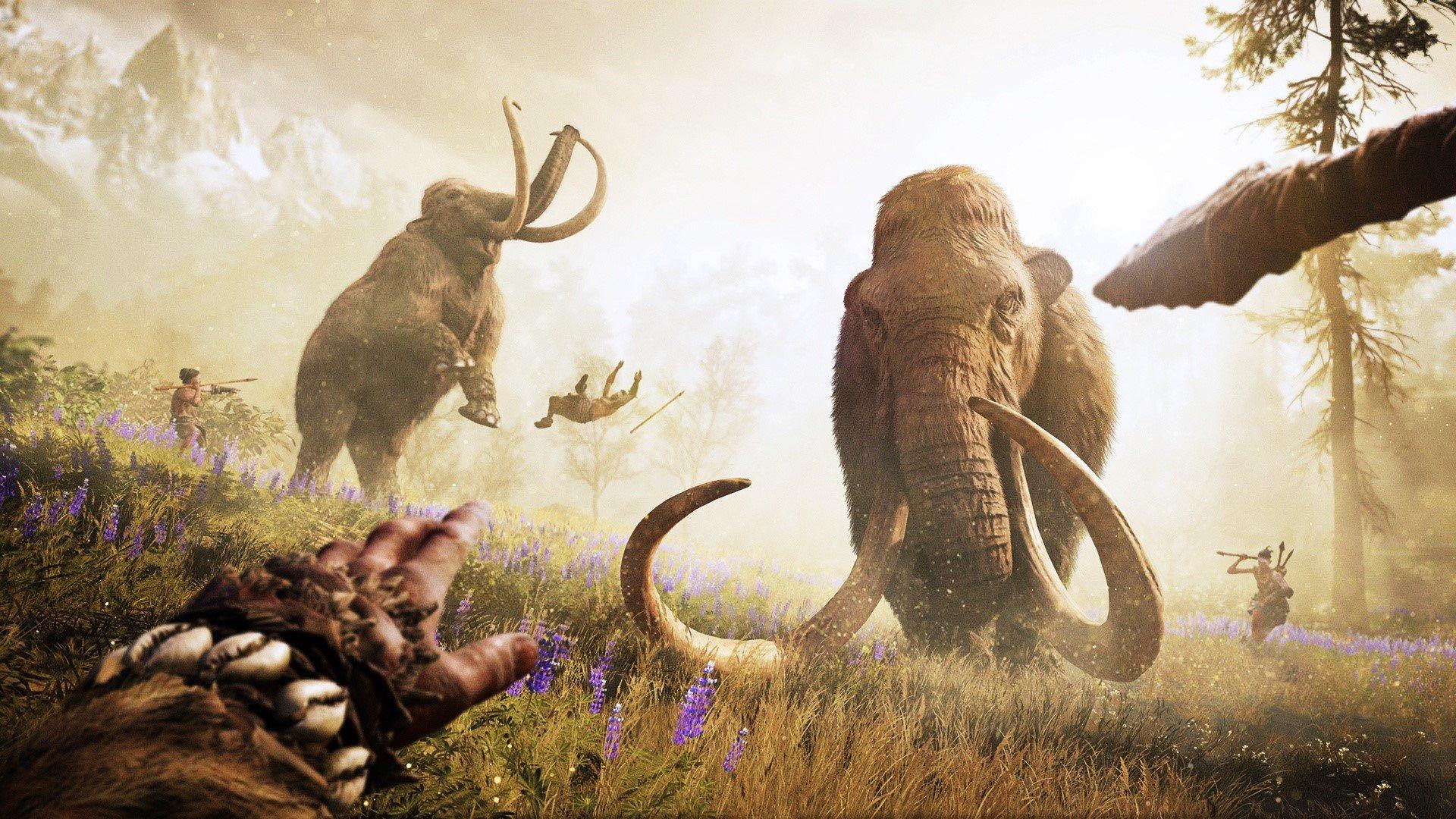 Fondos de pantalla Far Cry Primal Mammoth Hunt