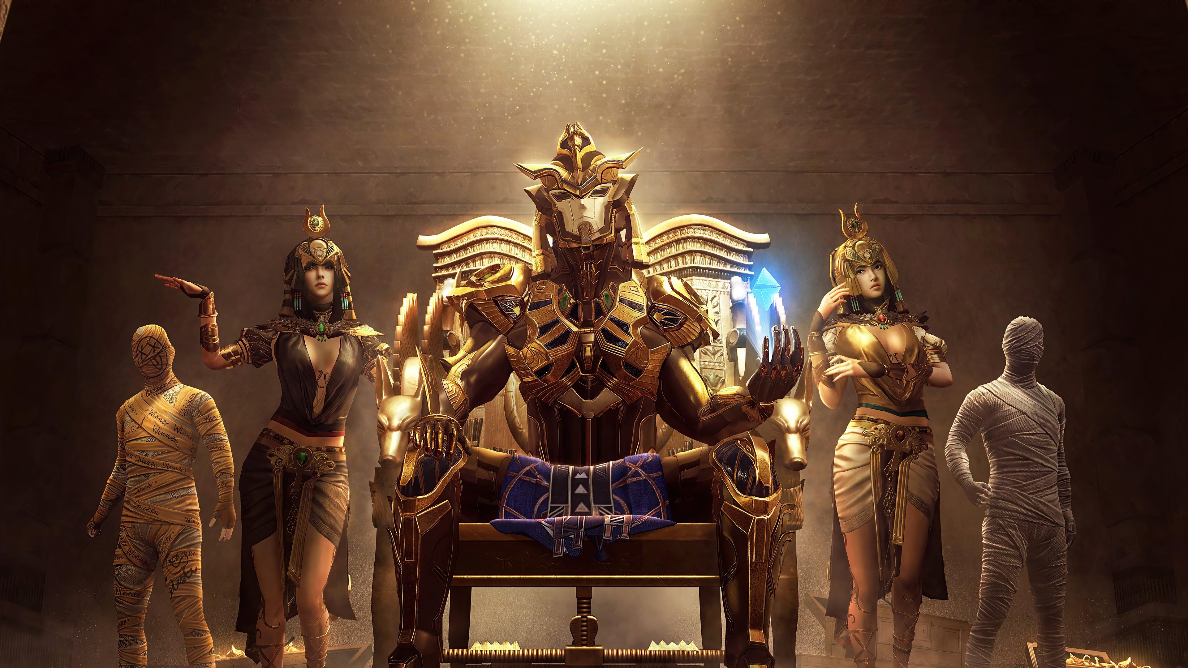 Fondos de pantalla Faraón dorado de PUBG
