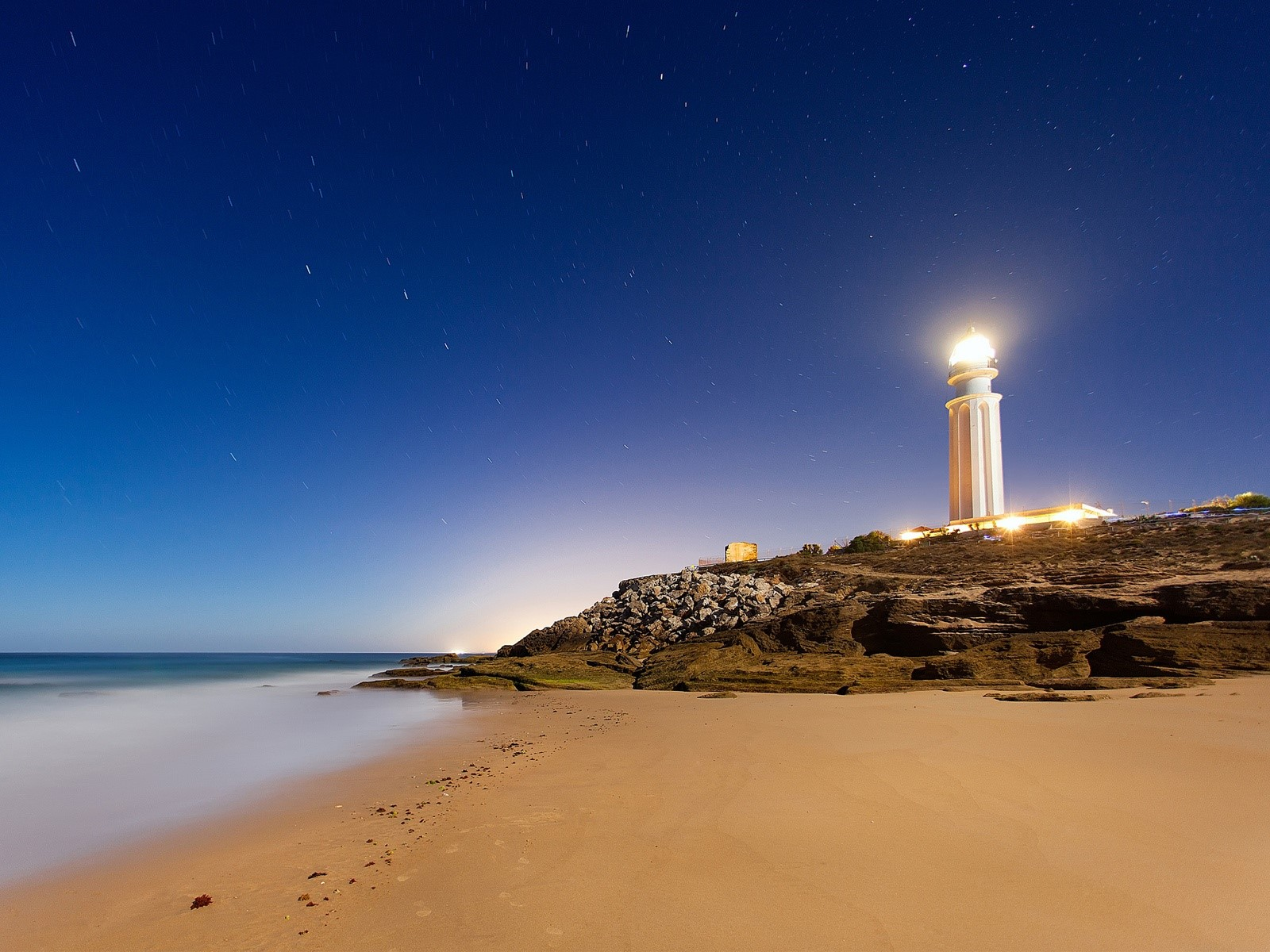 Wallpaper Lighthouse of Cape Trafalgar