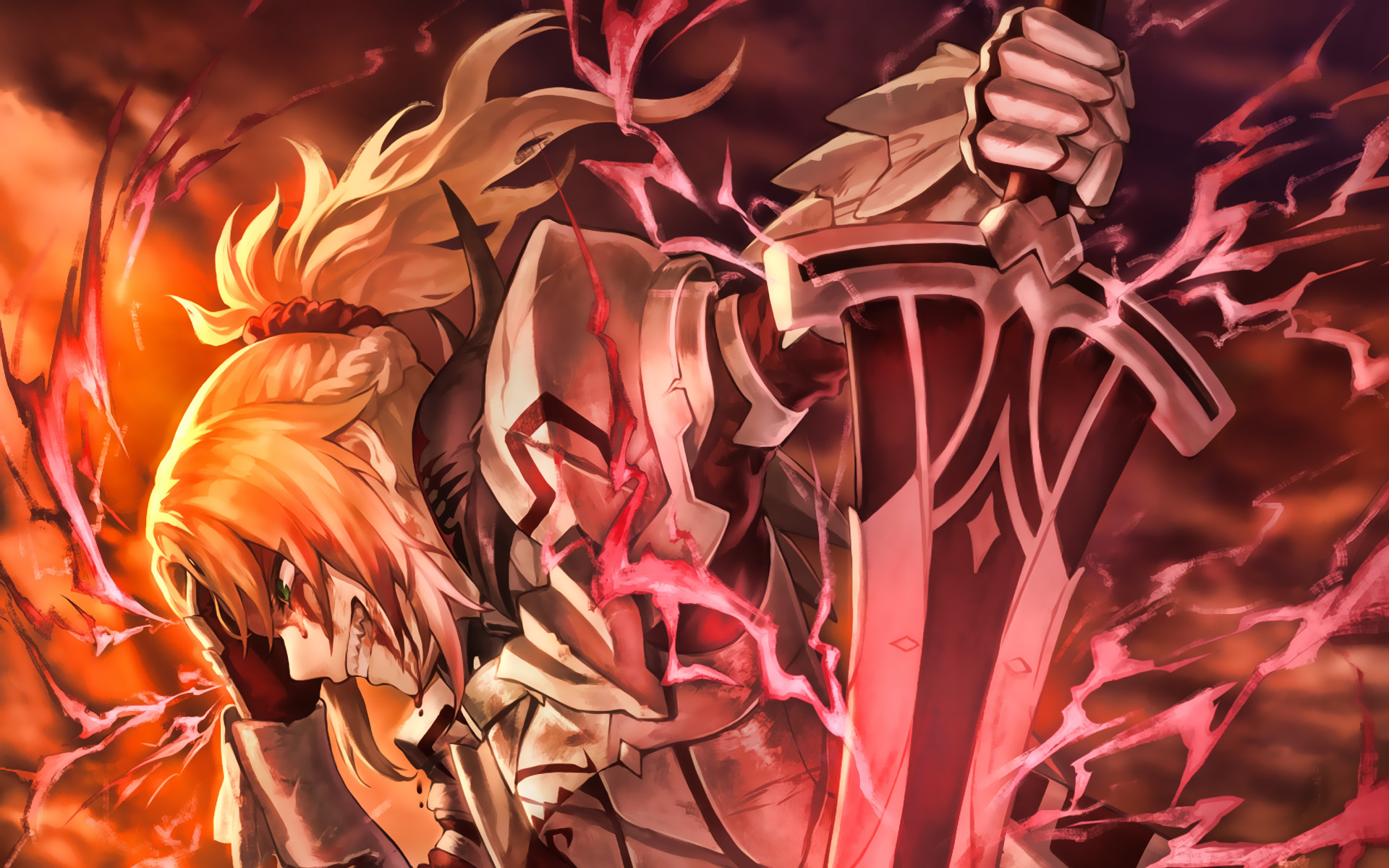 Fate Apocrypha Anime Fondo De Pantalla Full Hd Id3989
