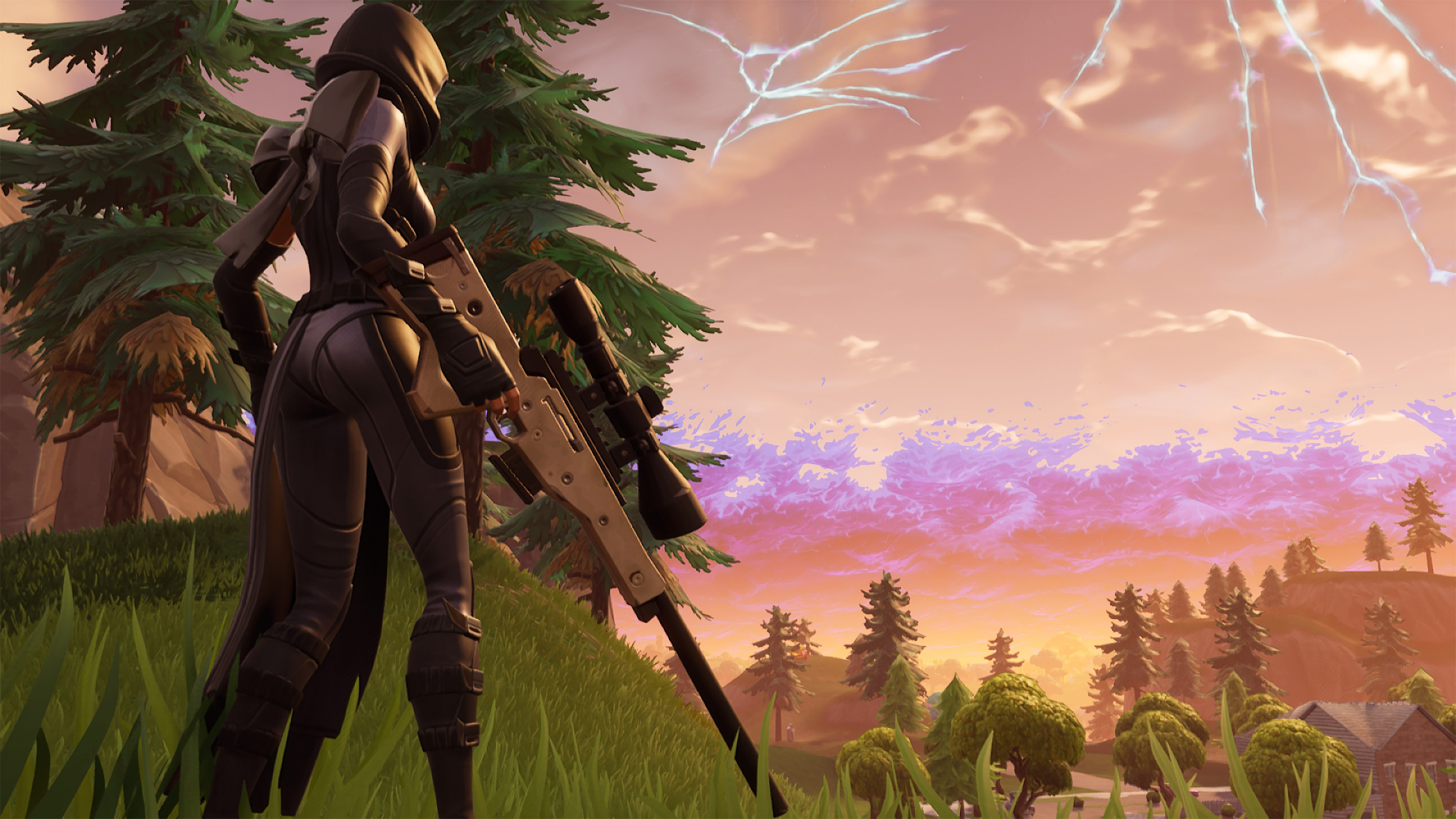 Fate From Fortnite Wallpaper 2k Quad Hd Id 3761