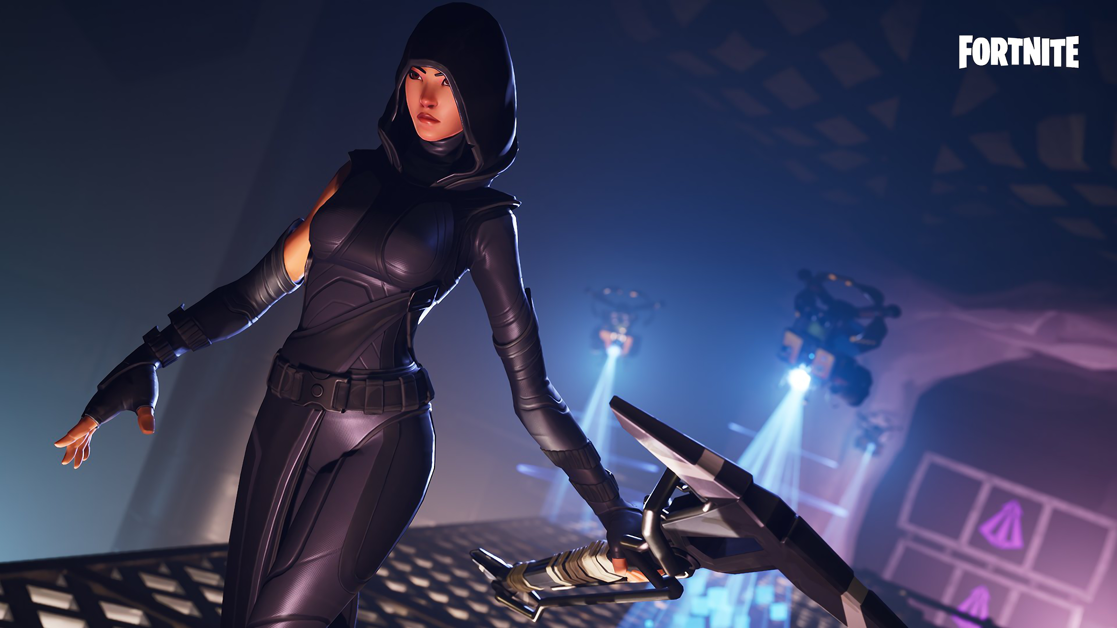 Fate Fortnite Skin Wallpaper 4k Ultra Hd Id3100