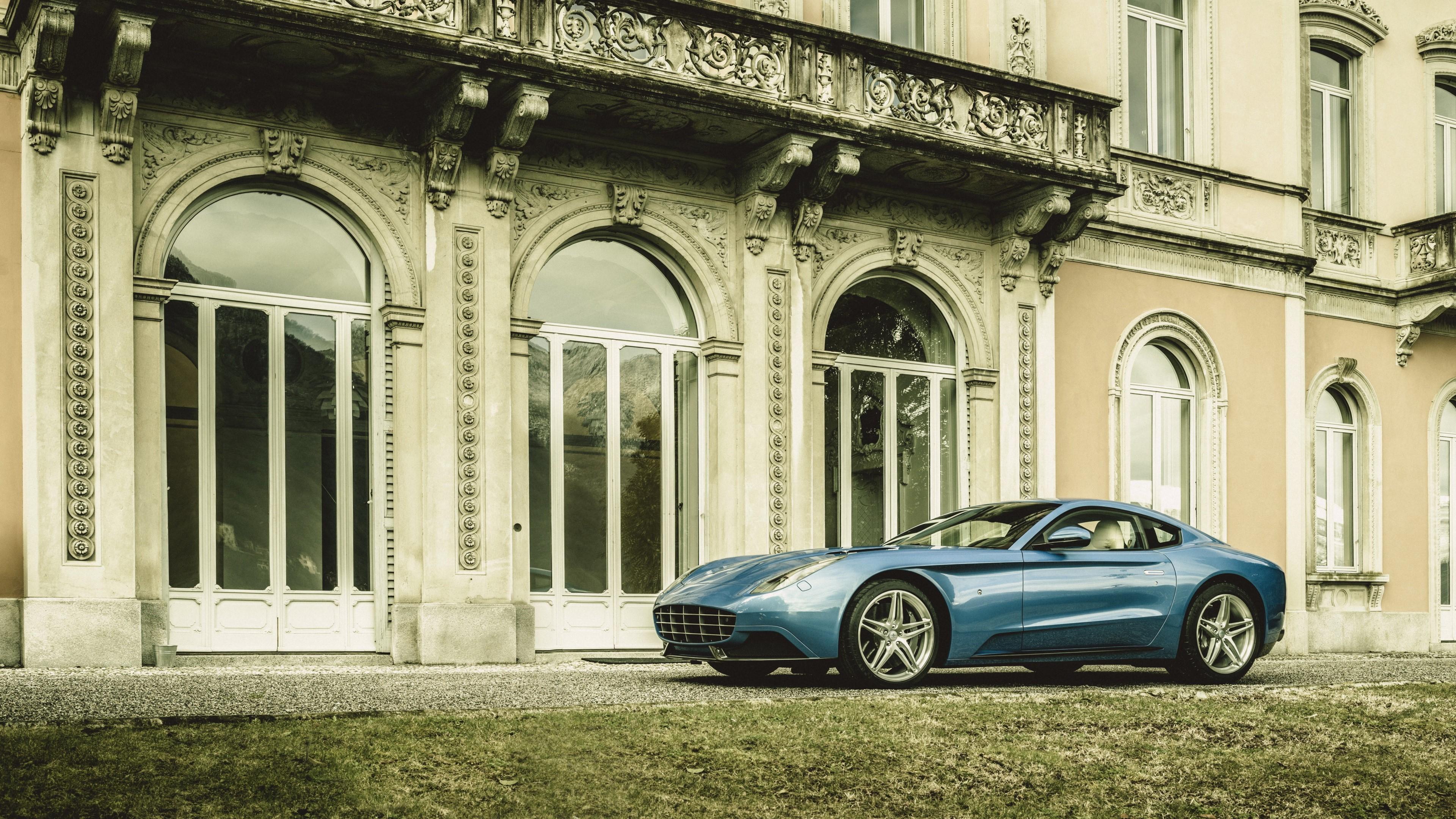 Wallpaper Ferrari 2015 Carrozzeria Touring Berlinertta