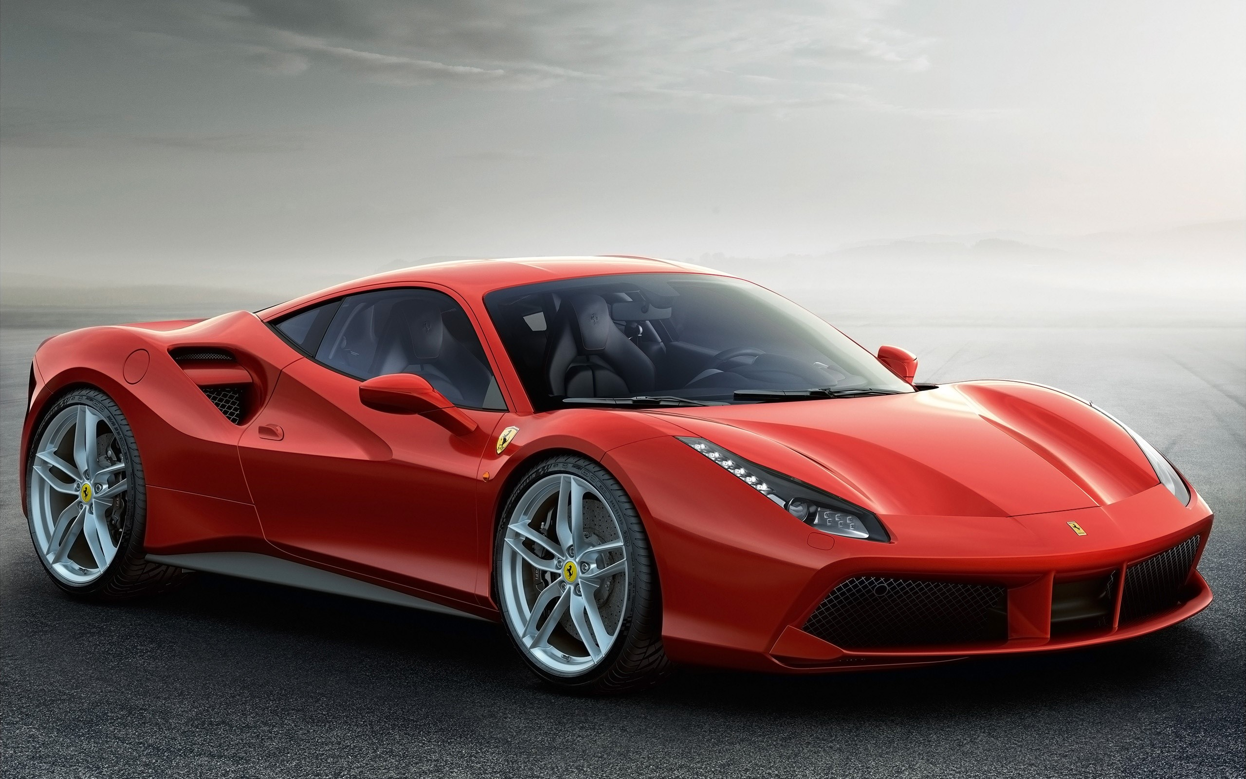 Fondos de pantalla Ferrari 488 GTB