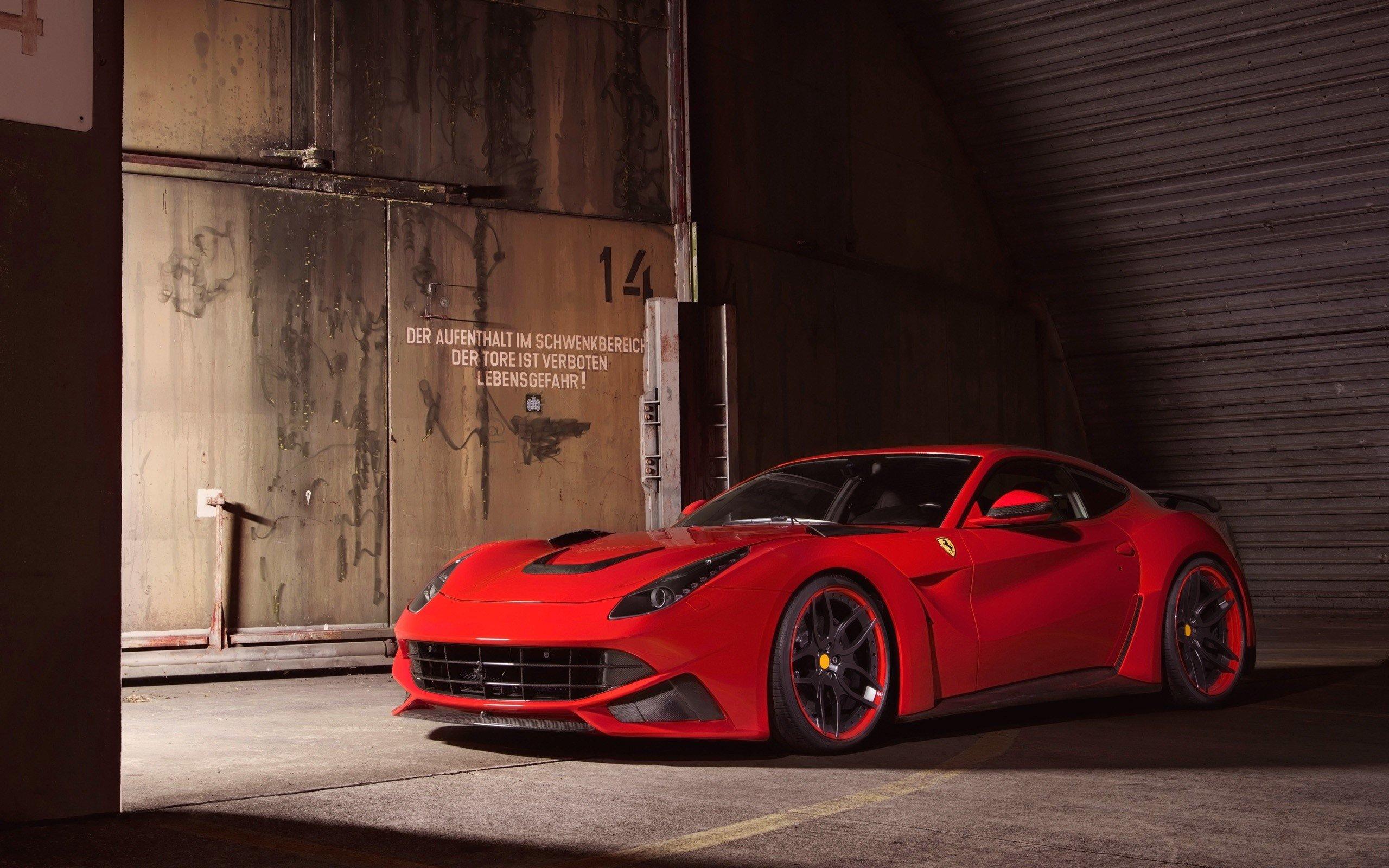Fondos de pantalla Ferrari F12 Berlinetta Novitec Rosso N-Largo