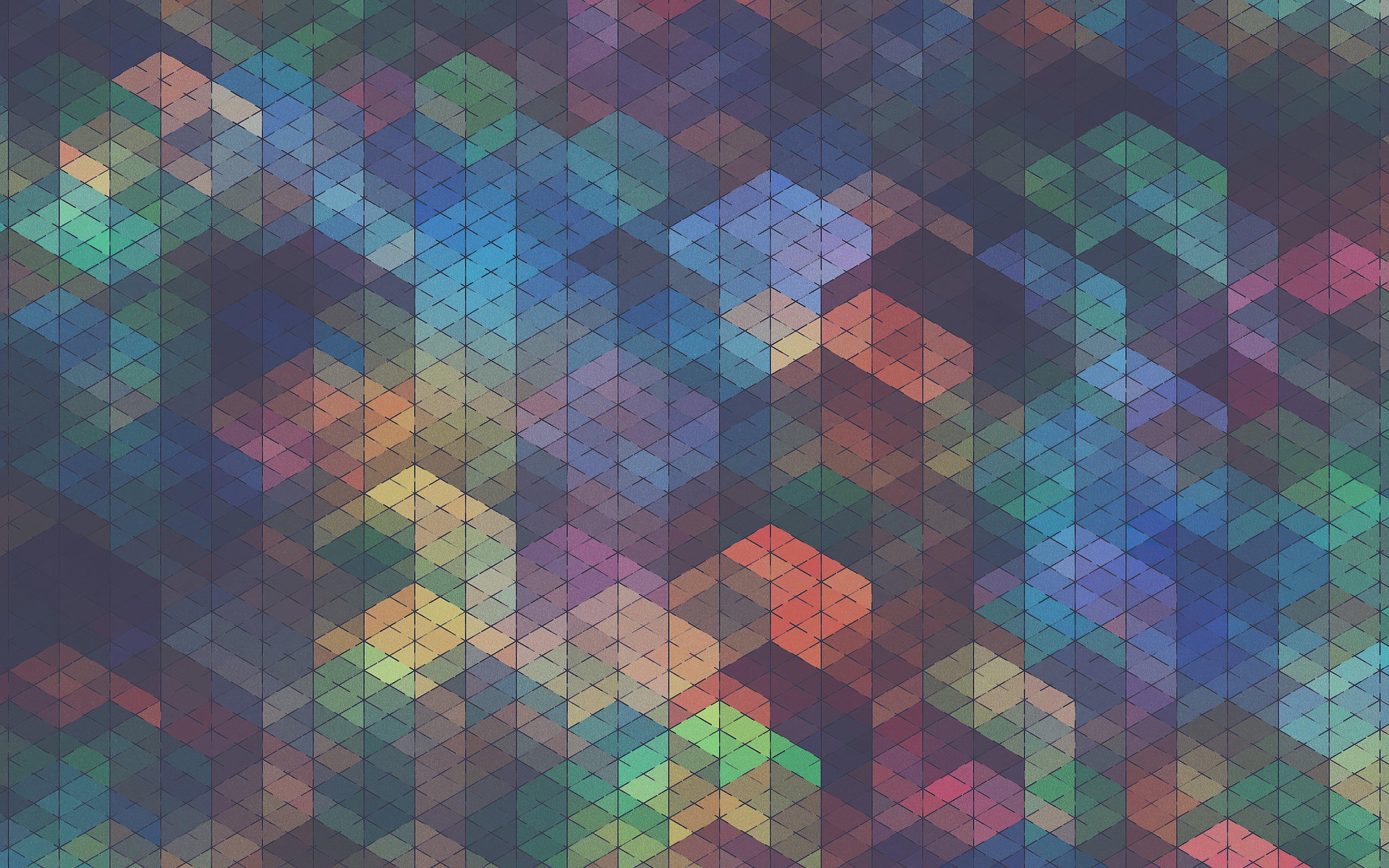 Fondos de pantalla Figuras geometricas de colores abstractas