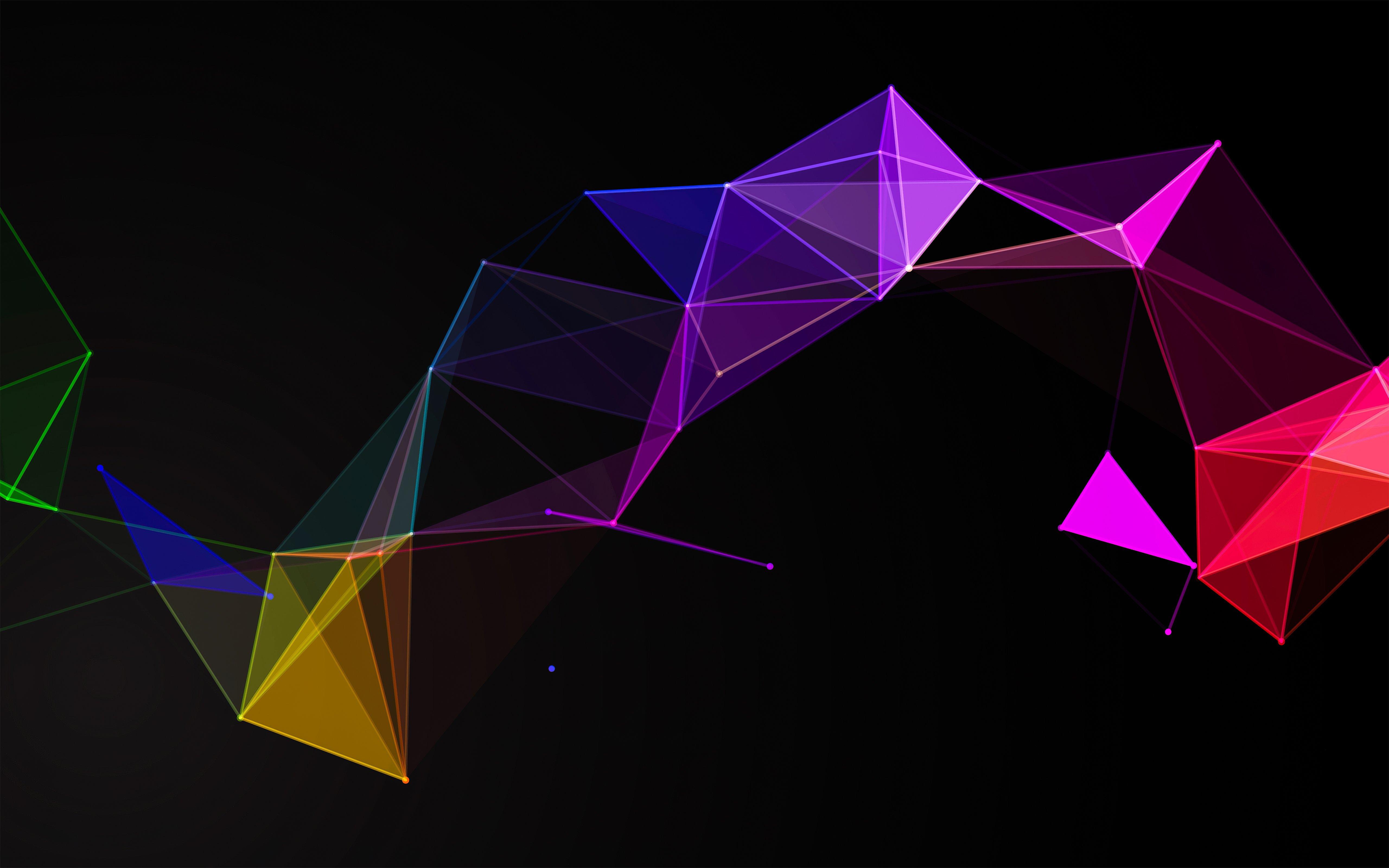 Fondos de pantalla Figuras geometricas en bucle