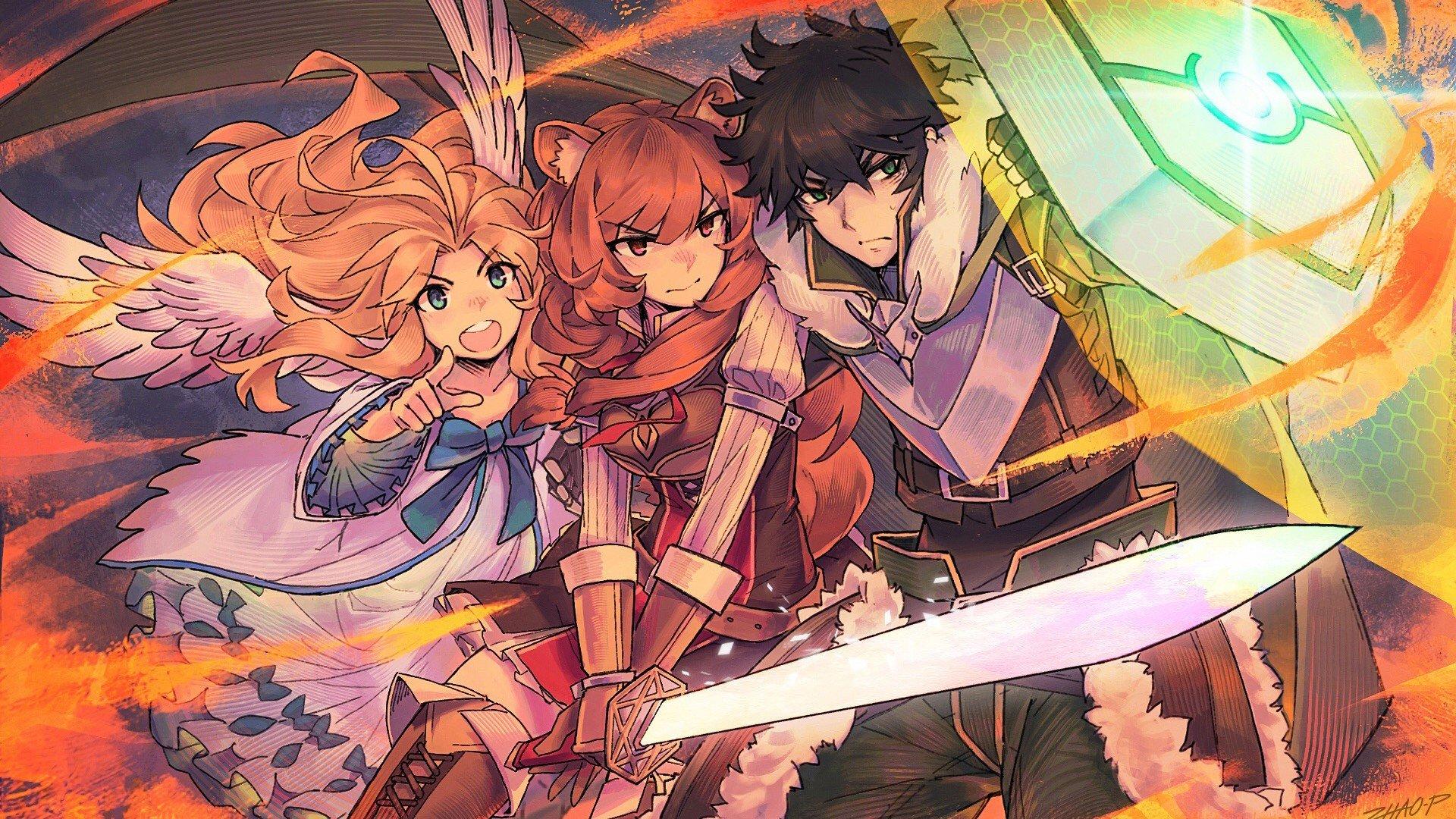 Anime Wallpaper Filo, Naofumi Iwatani from The Rising Of The Shield Hero