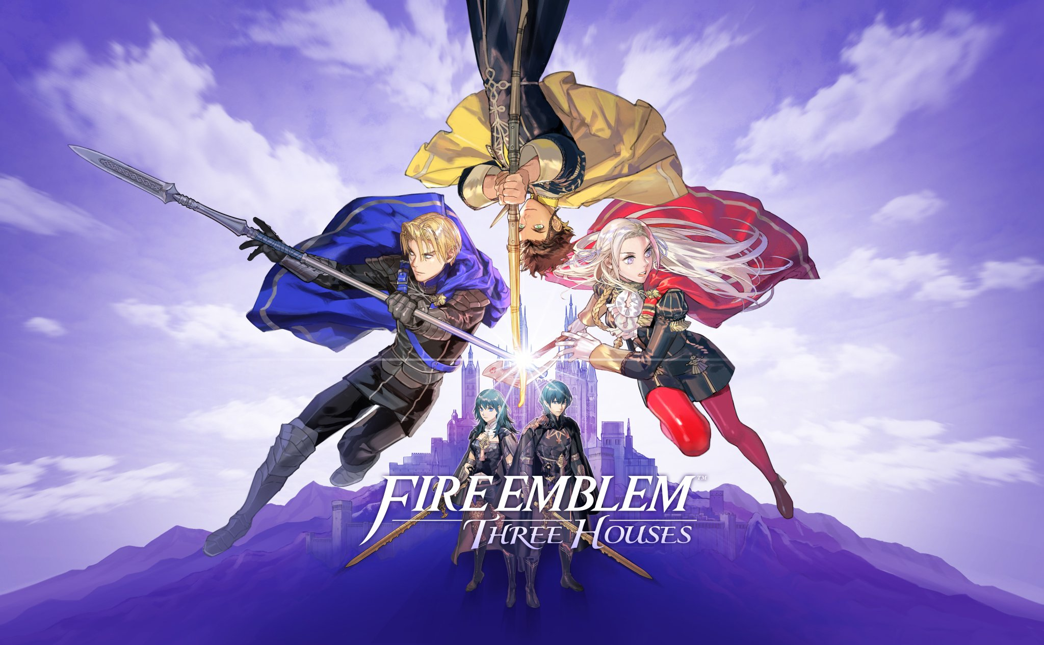 Fondos de pantalla Fire Emblem: Three Houses Poster