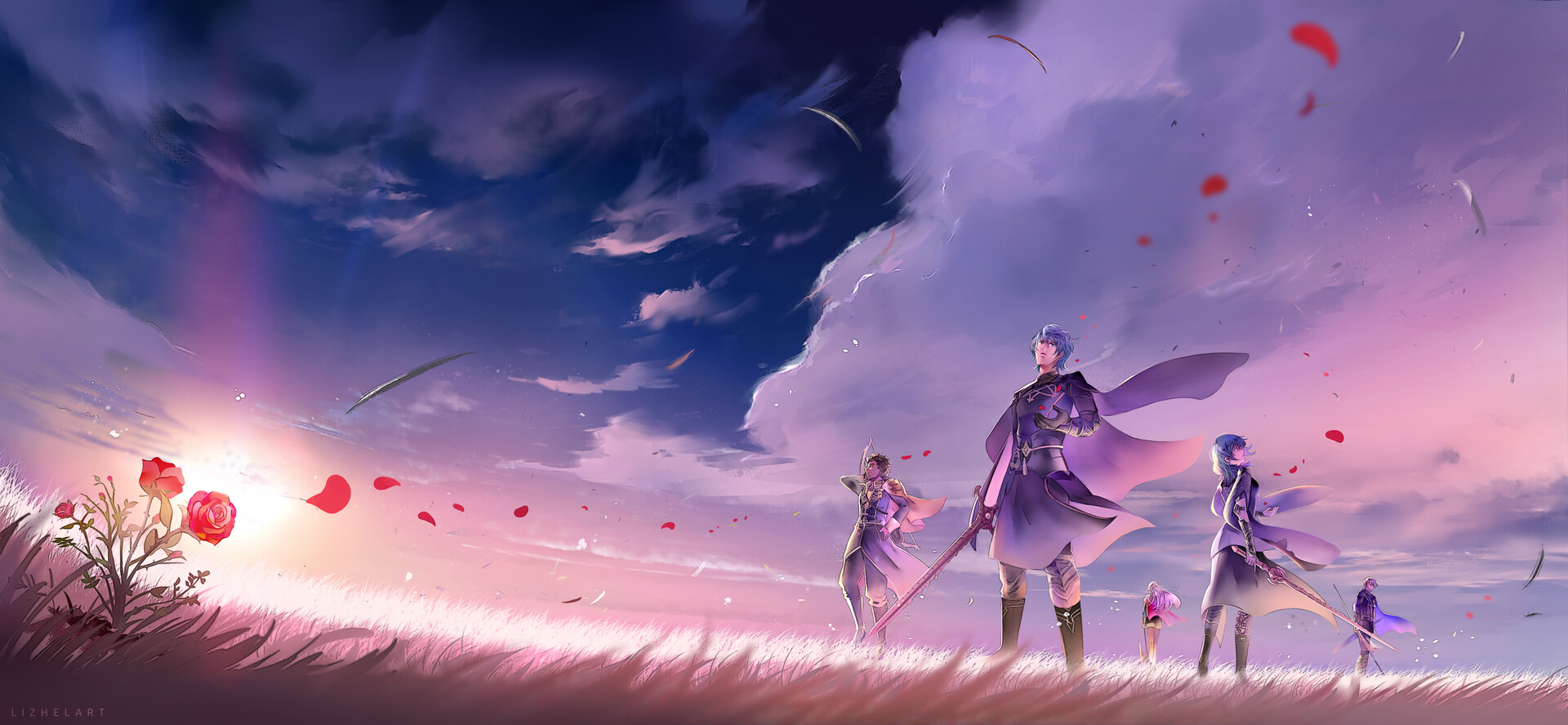 Fire Emblem Three Houses The Edge Of Dawn Fanart Wallpaper Full