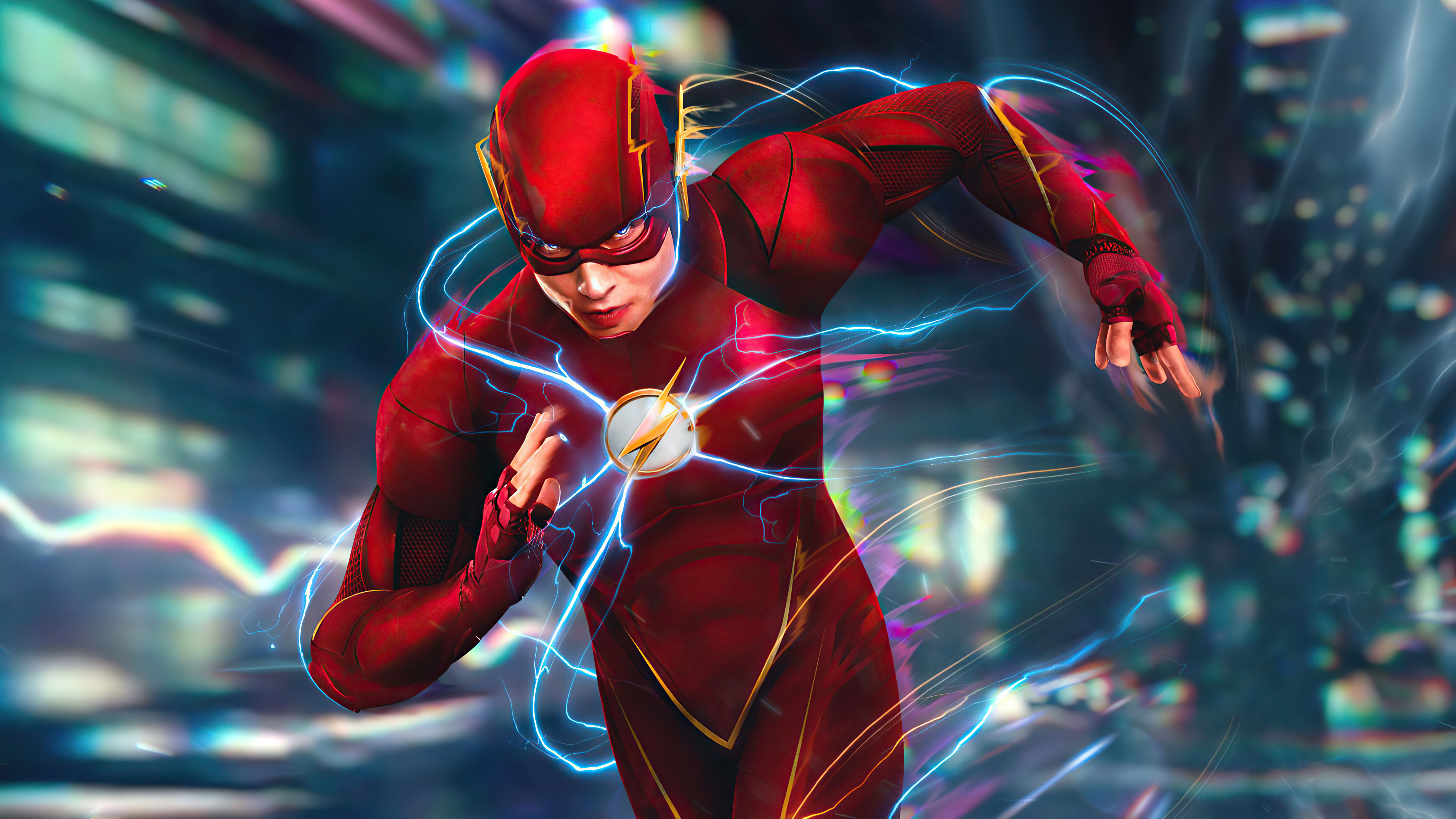 Fondos de pantalla Flash corriendo