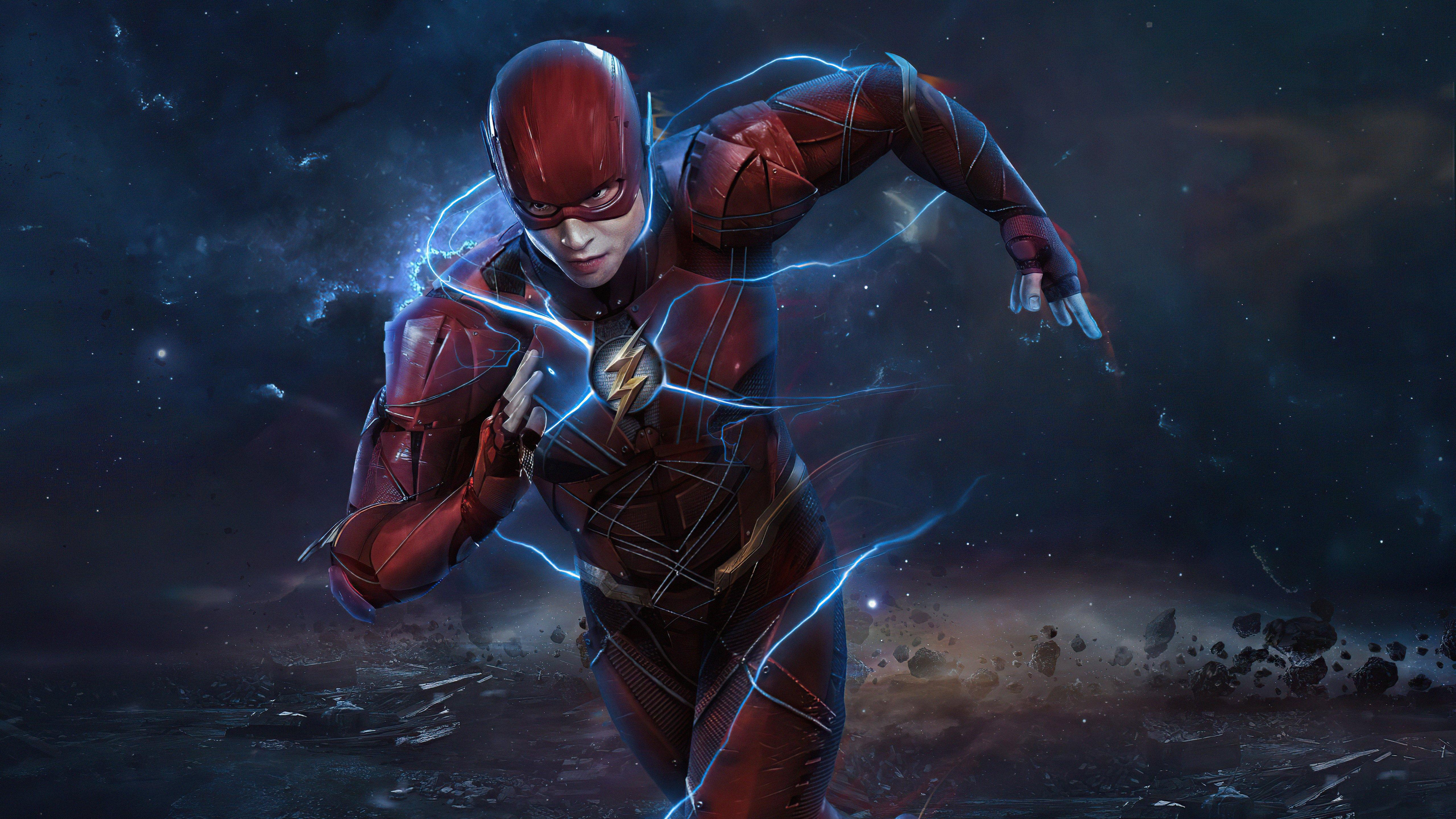 Fondos de pantalla Flash corriendo Zack Snyder Cut