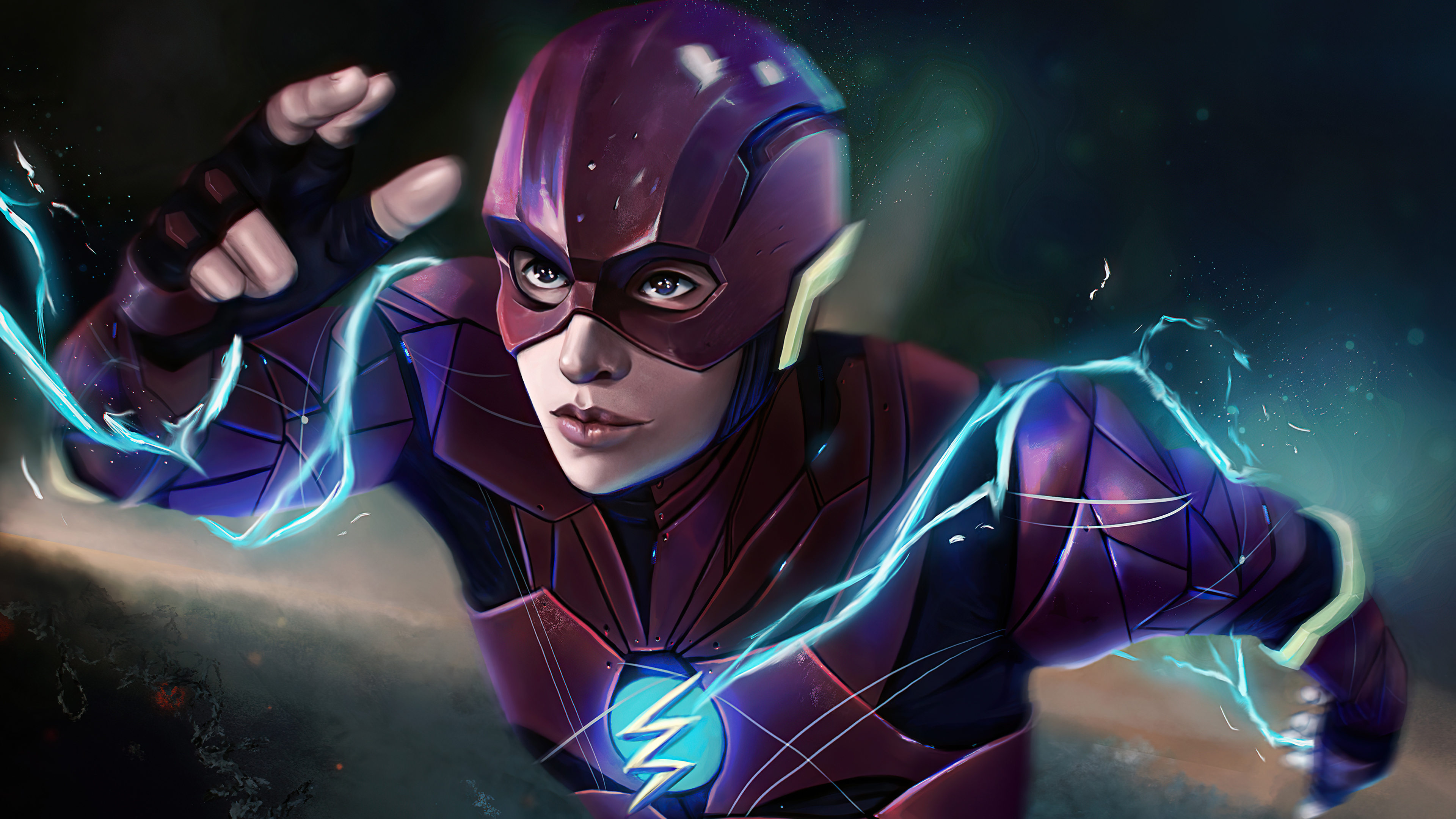 Wallpaper Flash Justice League Snydercut Fanart