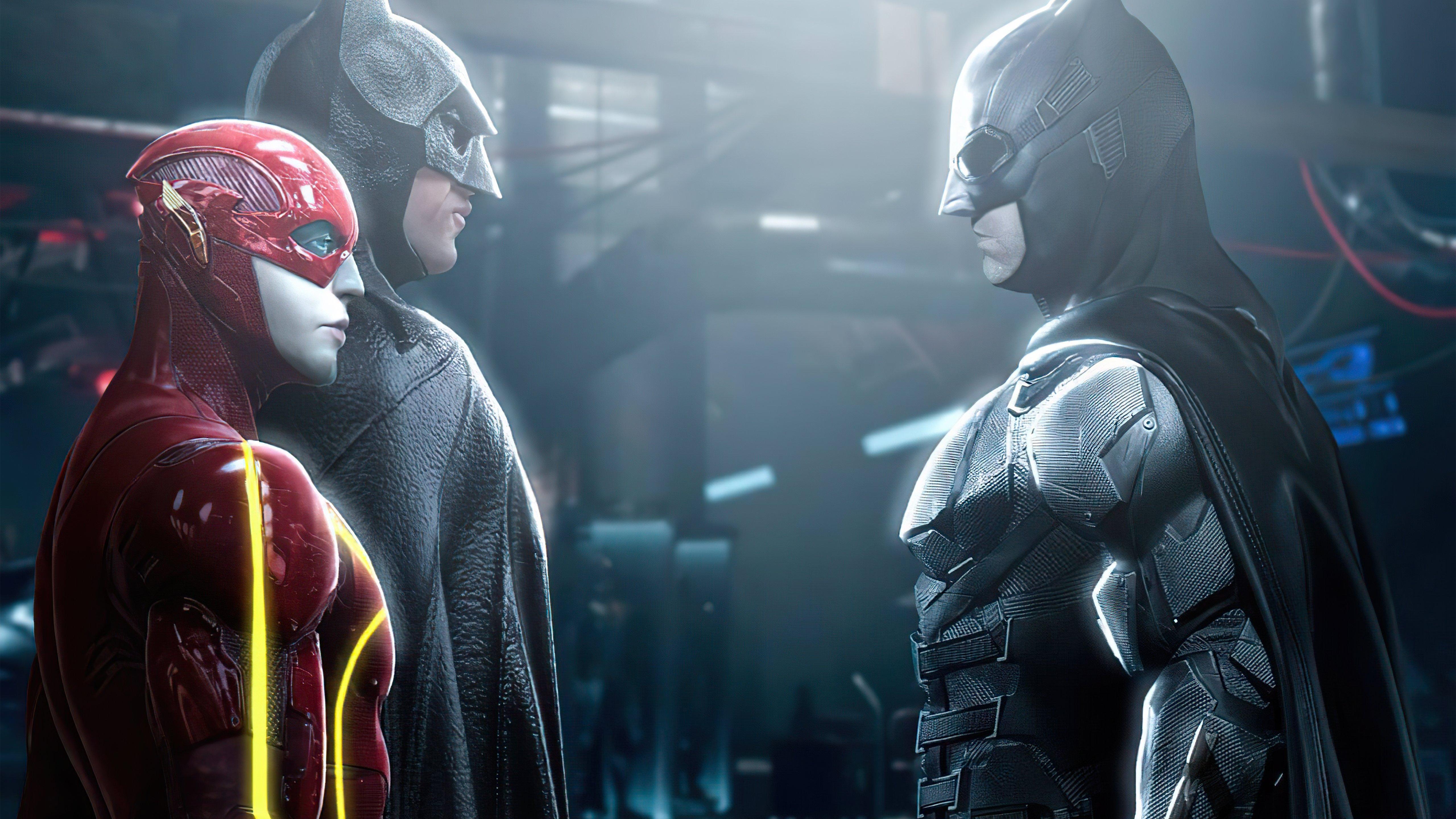 Wallpaper Flash and Batman