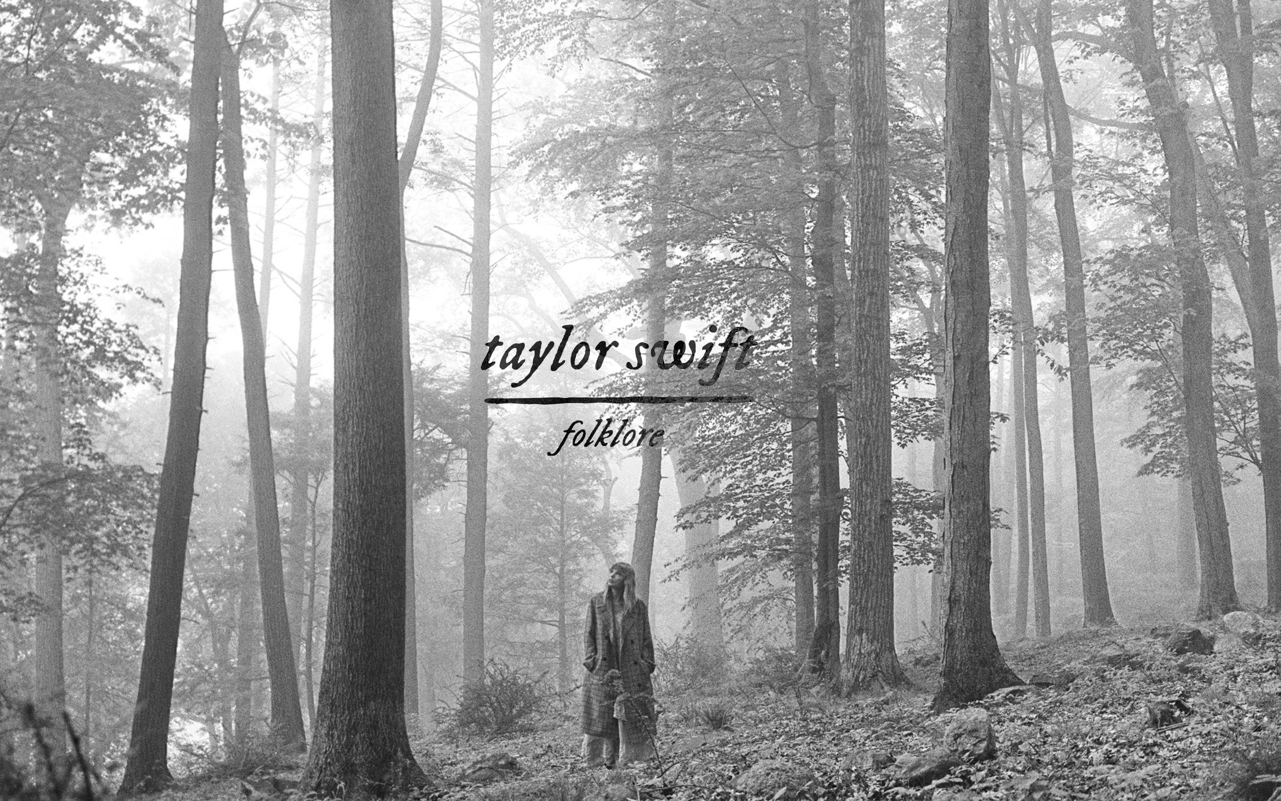 Fondos de pantalla Folklore de Taylor Swift