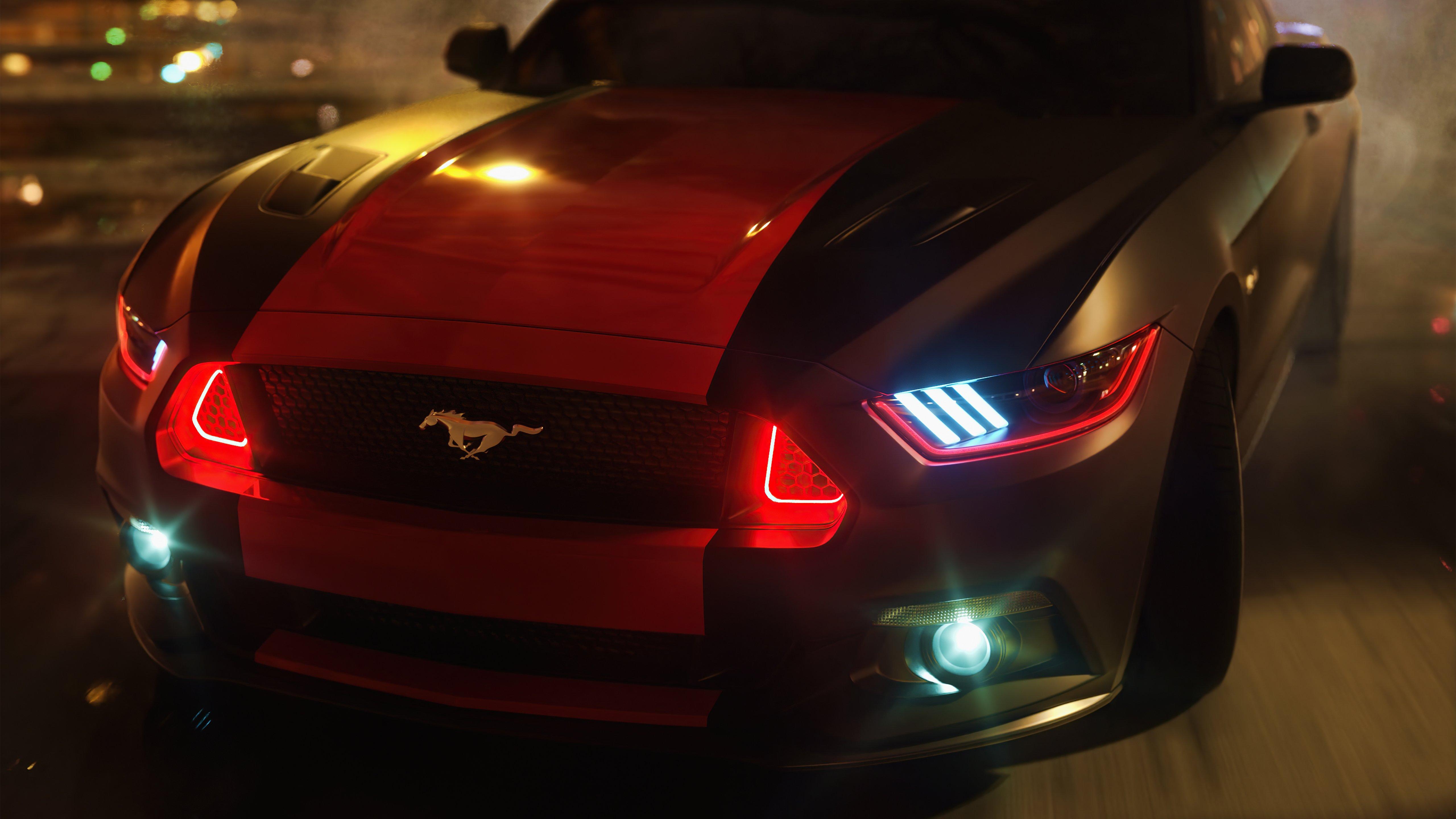 Wallpaper Ford Mustang