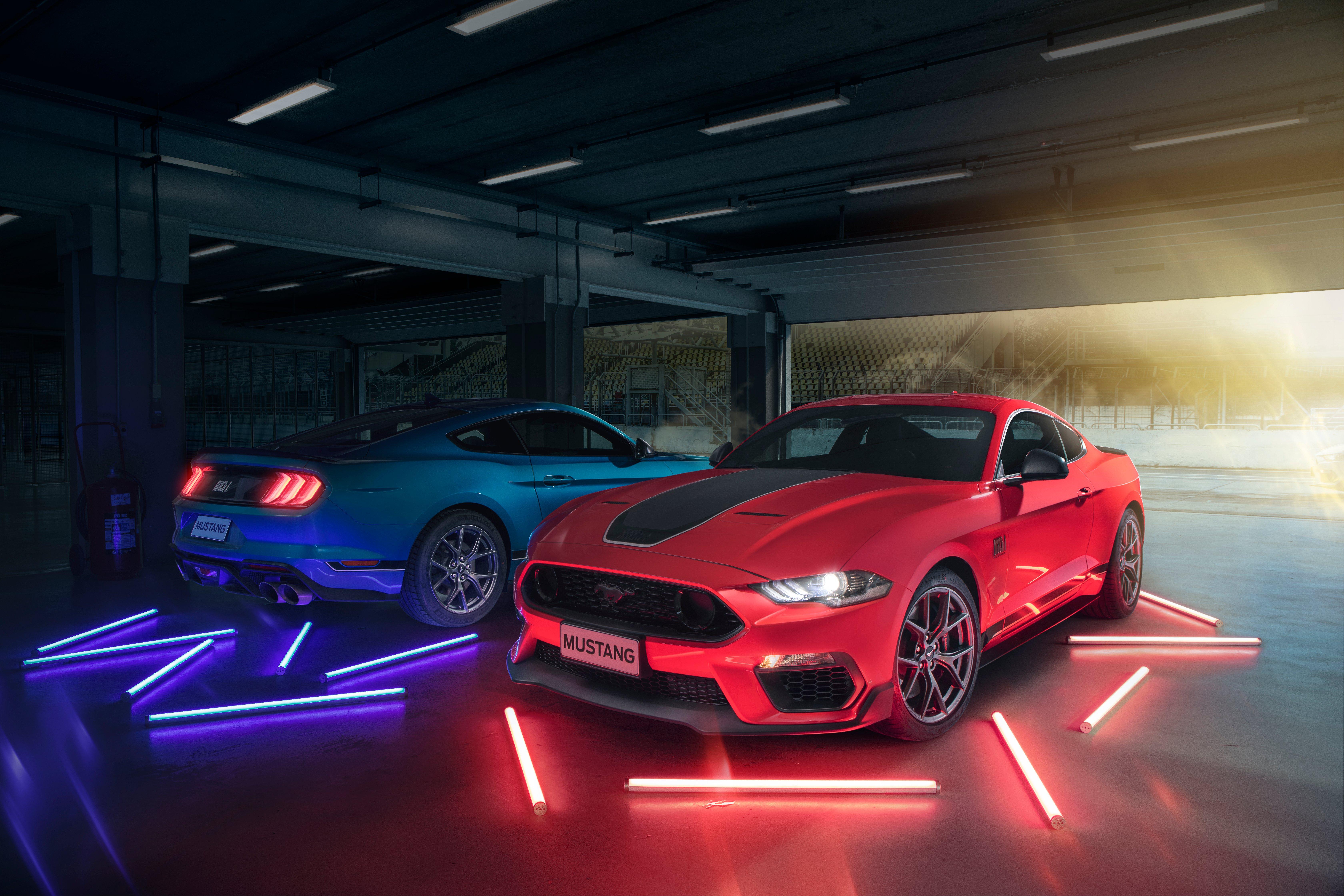 Fondos de pantalla Ford Mustang Mach 1