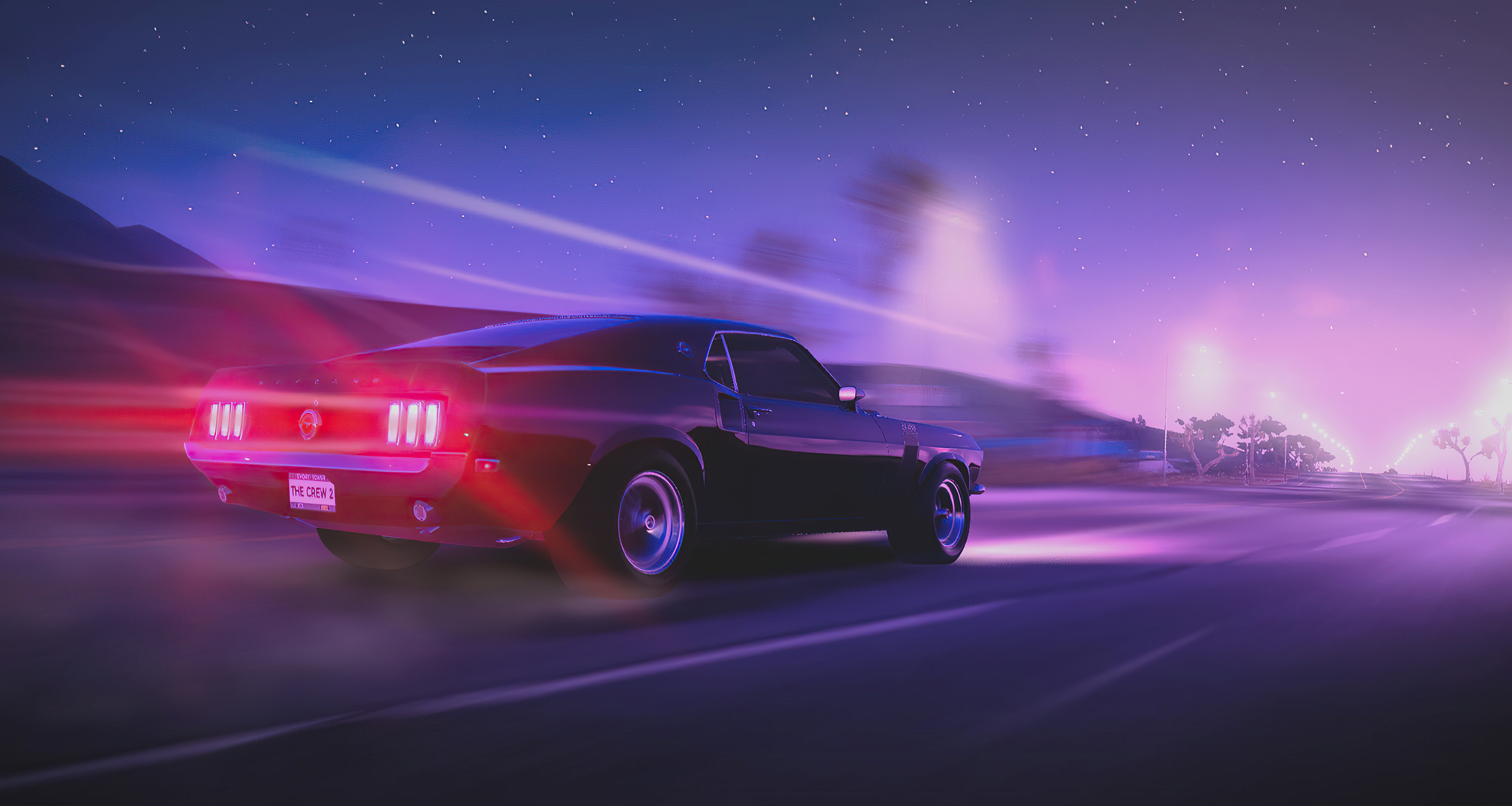 Wallpaper Ford Mustang The Crew 2
