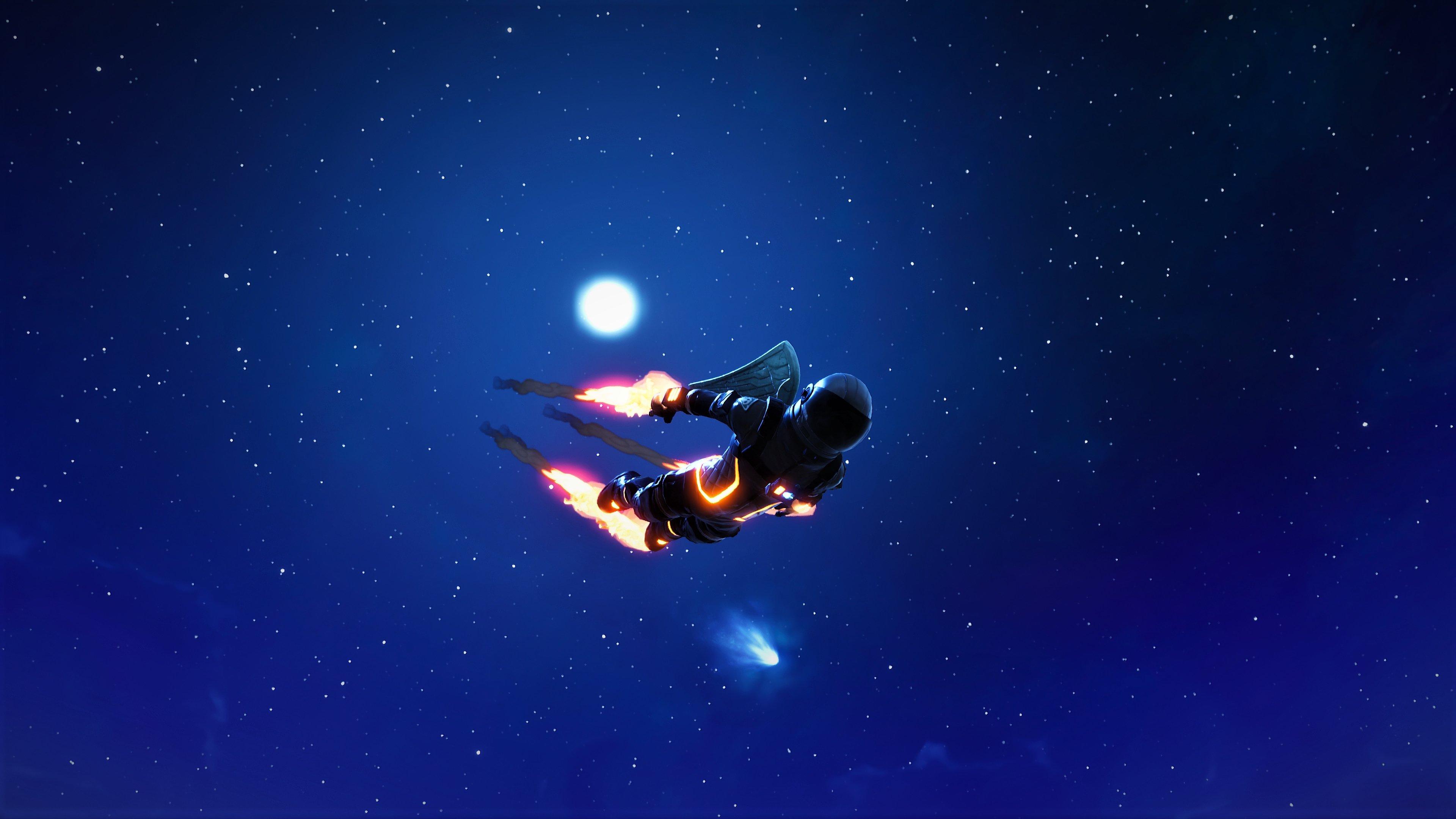 Fondos de pantalla Fortnite Dark Voyager