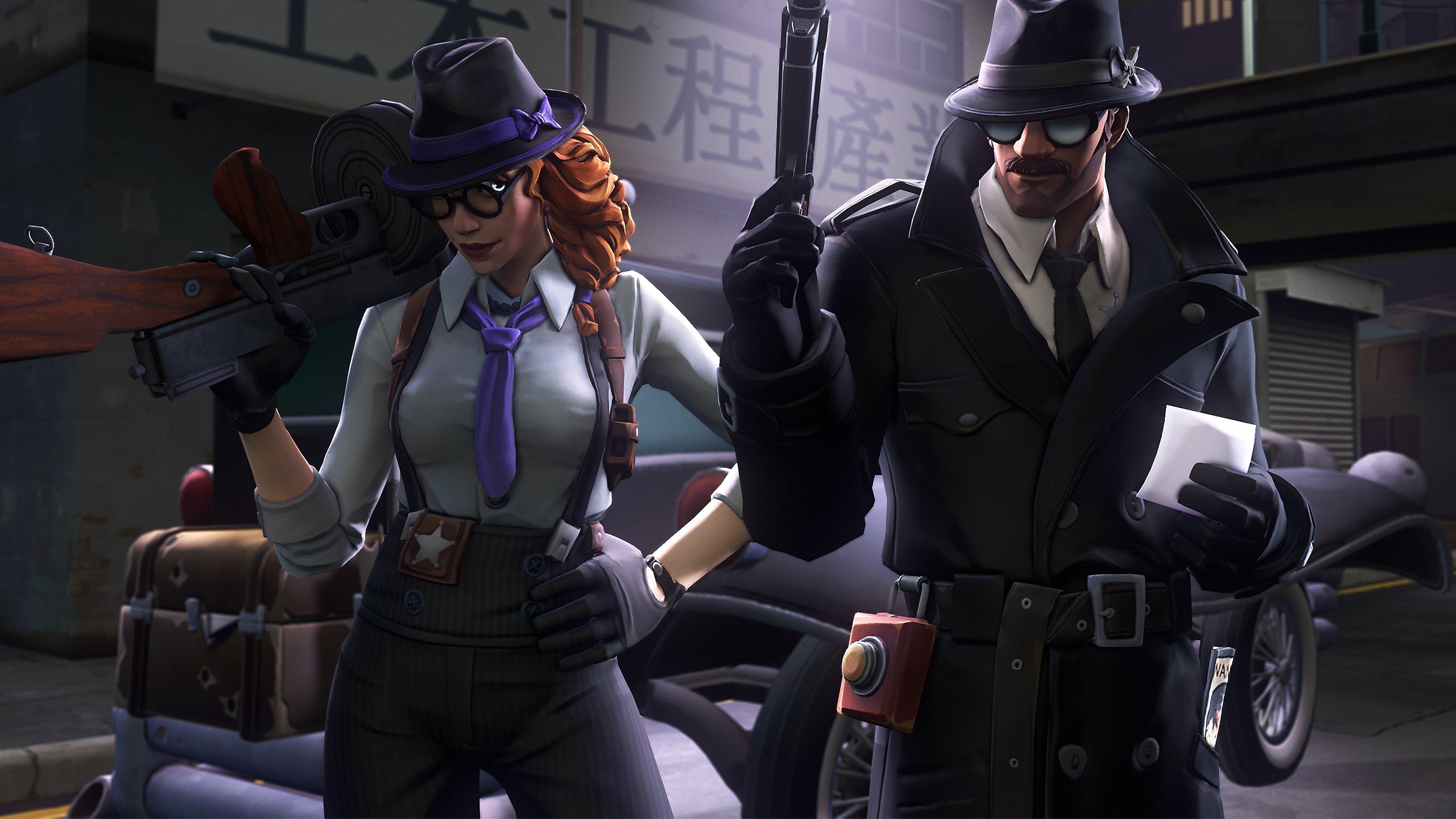 Fondos de pantalla Fortnite Detective Skins