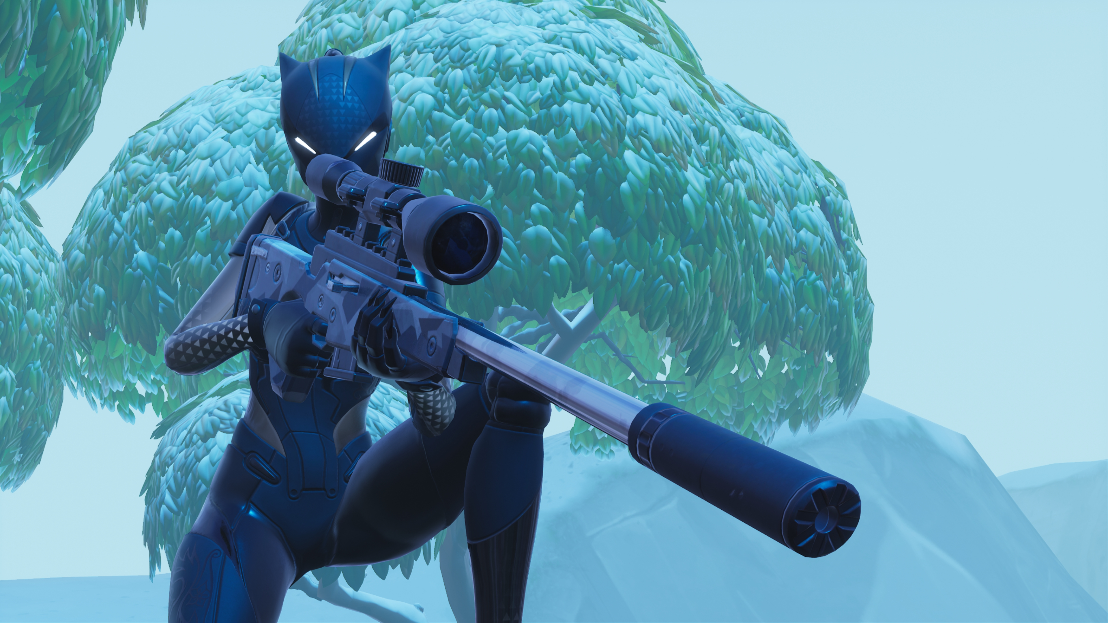 Fondos de pantalla Fortnite Lynx Black Edition