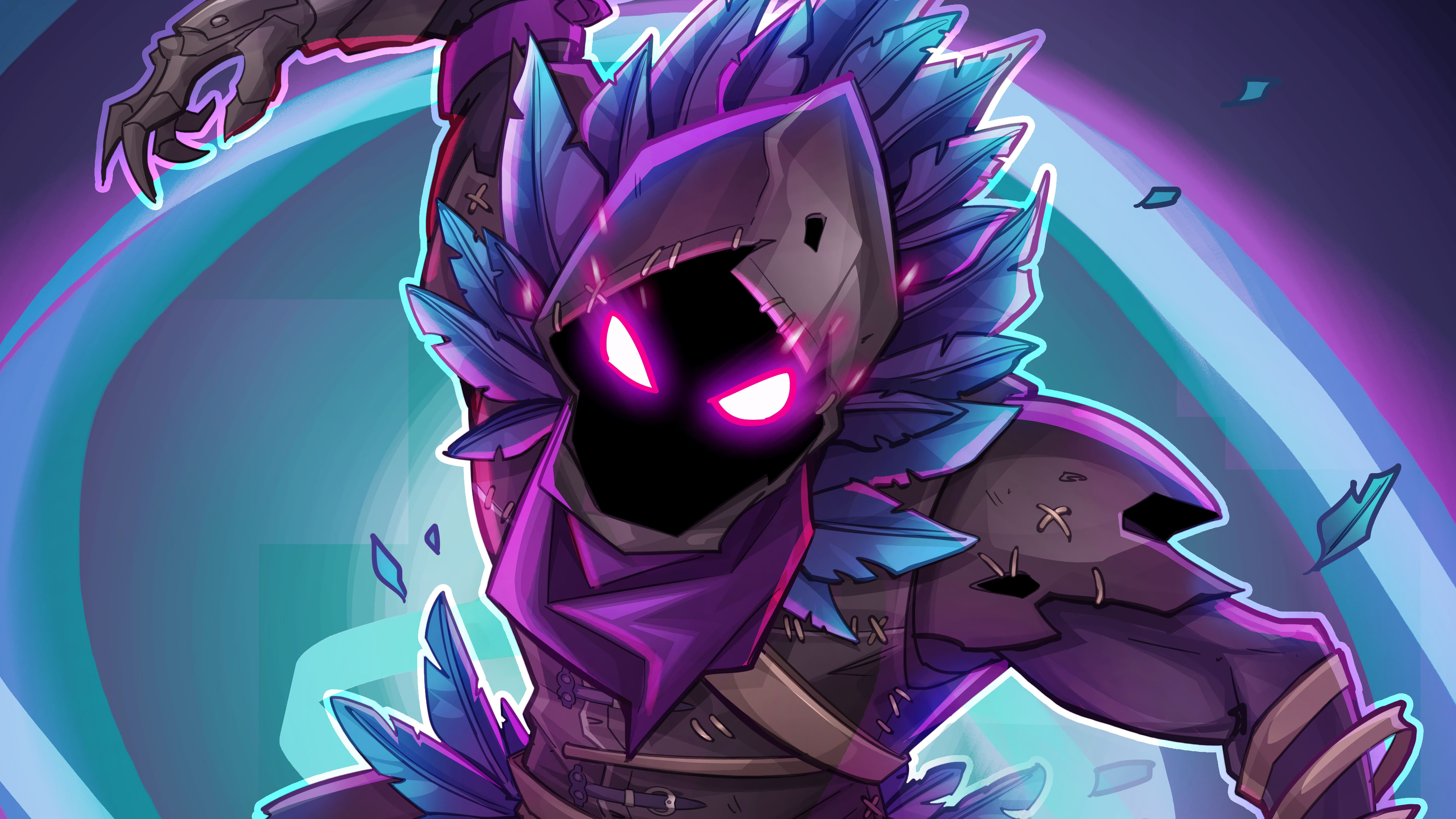 Fondos de pantalla Fortnite Raven