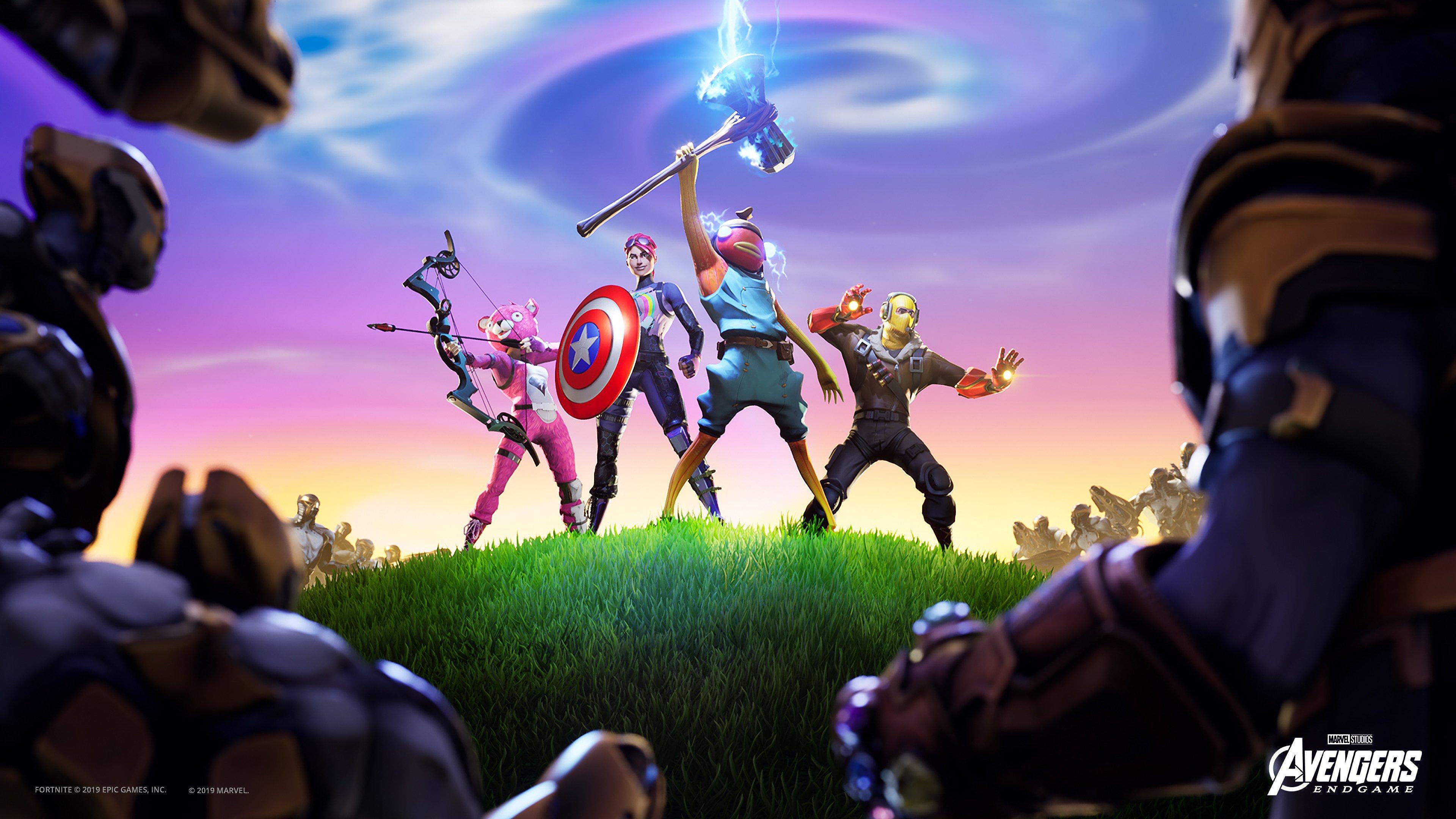 Fondos de pantalla Fortnite X Avengers Stormbreaker